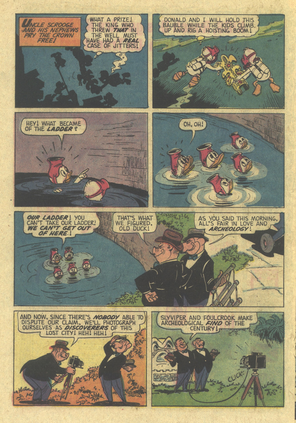 Read online Uncle Scrooge (1953) comic -  Issue #113 - 20