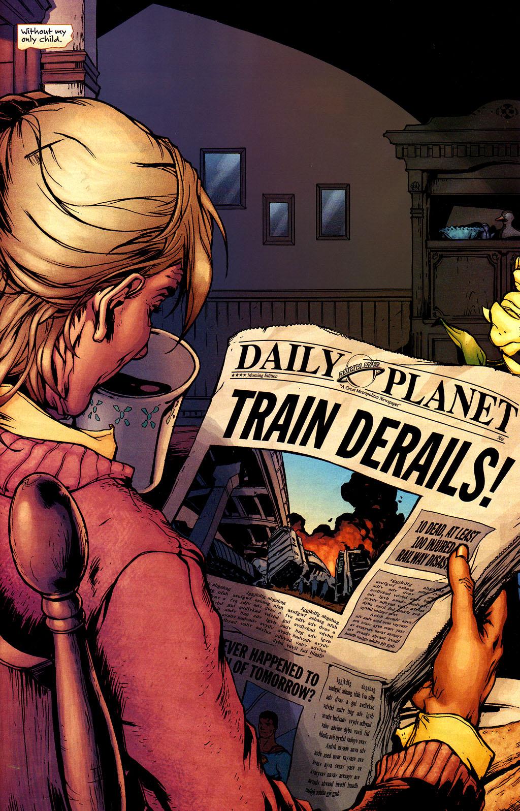 Comic Superman Returns Prequel issue 2