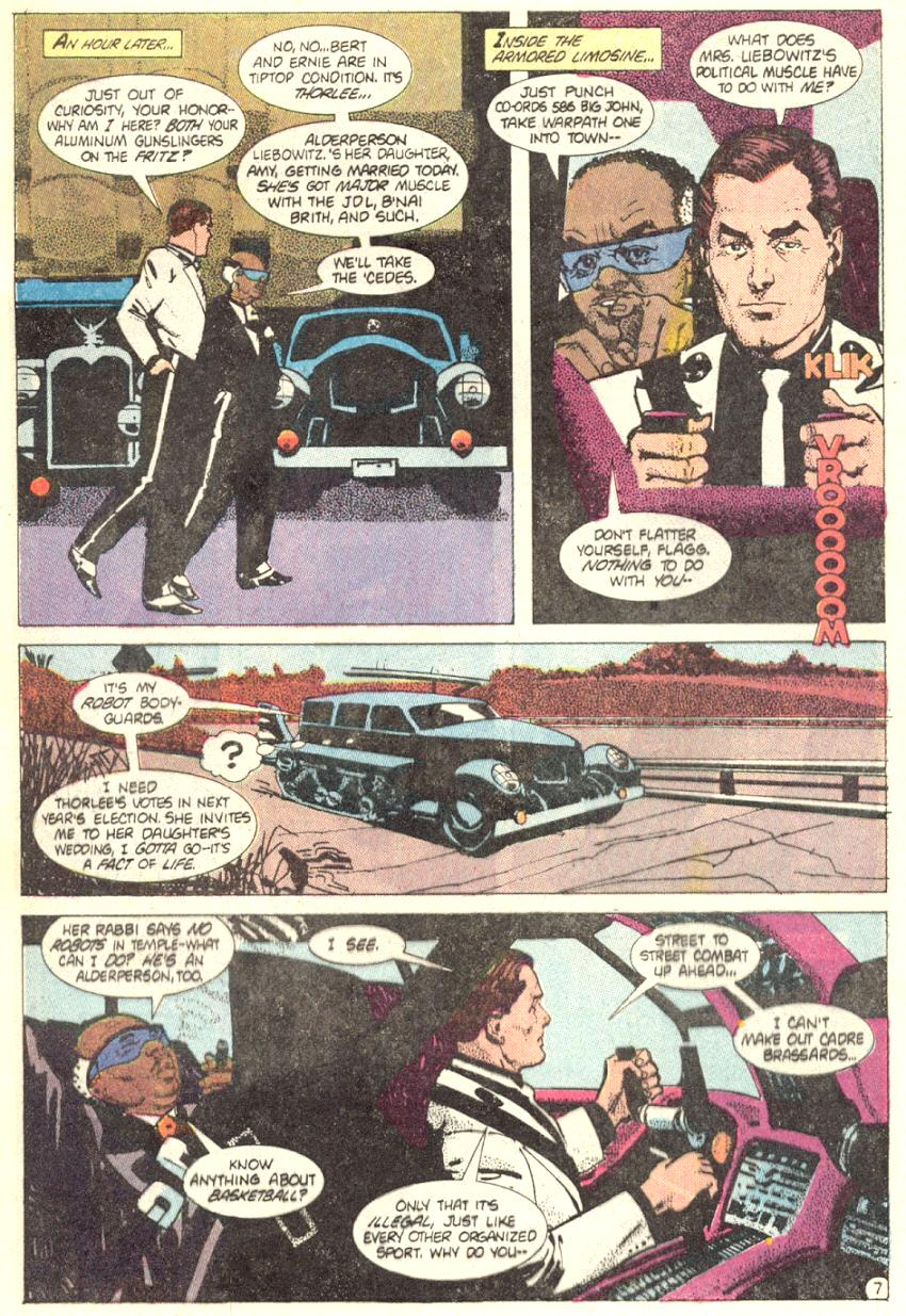 Read online American Flagg! comic -  Issue #2 - 8
