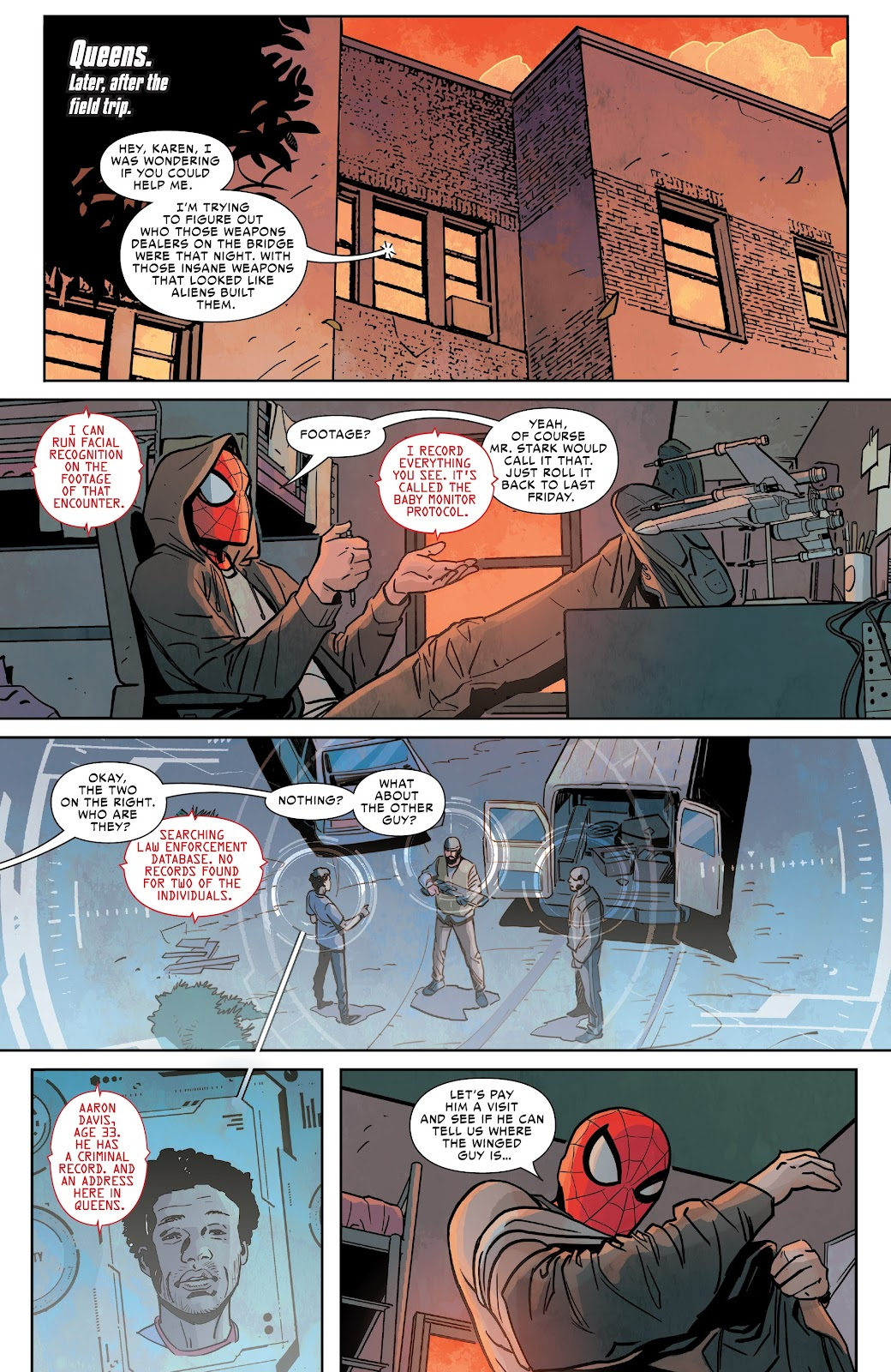 Read online Spider-Man: Far From Home Prelude comic -  Issue #2 - 5