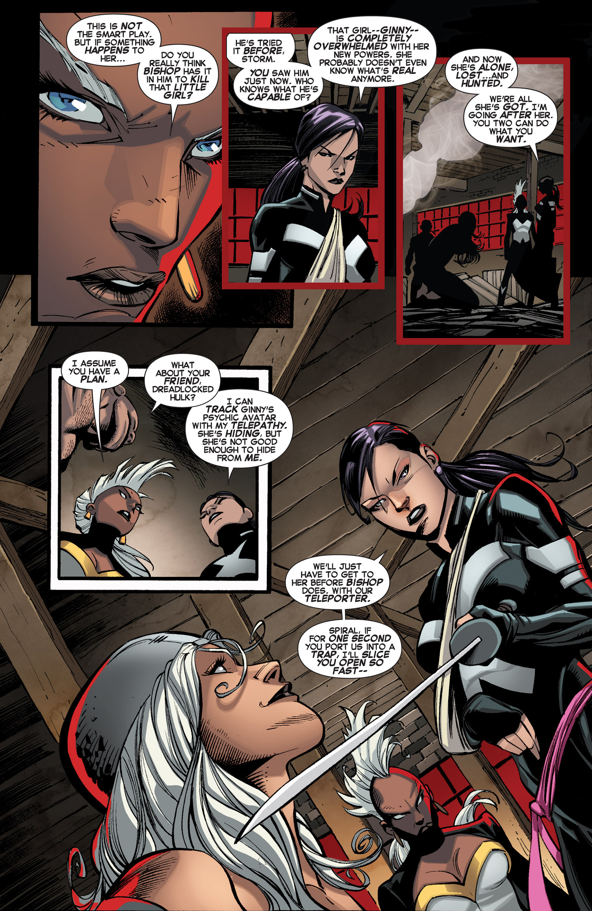 Read online Uncanny X-Force (2013) comic -  Issue #3 - 8
