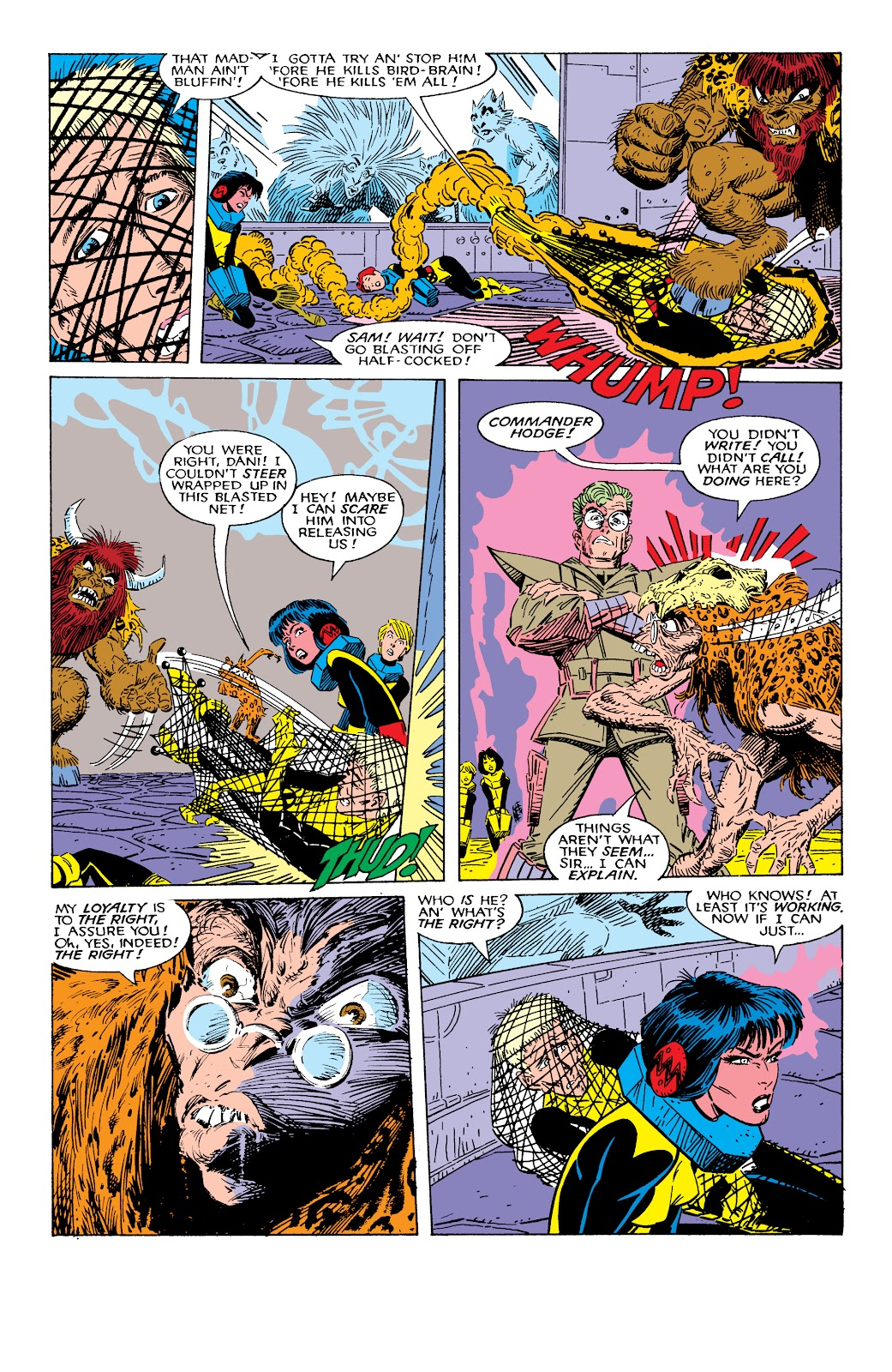 Read online X-Men Milestones: Fall of the Mutants comic -  Issue # TPB (Part 2) - 19