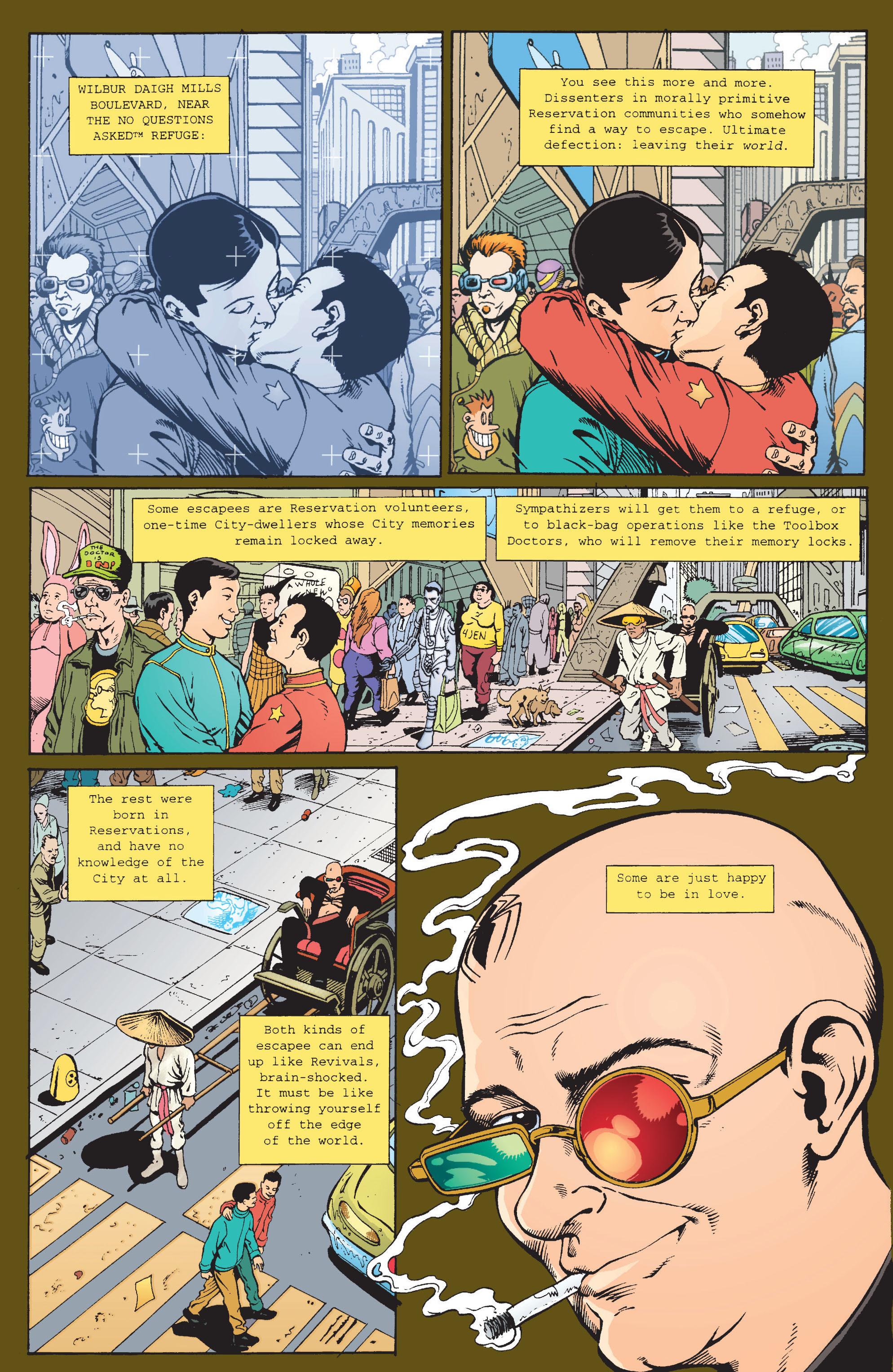 Read online Transmetropolitan comic -  Issue #9 - 19