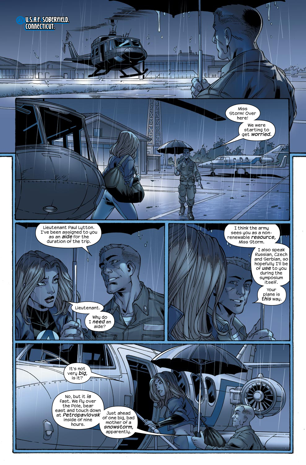 Read online Ultimate Fantastic Four (2004) comic -  Issue #47 - 15