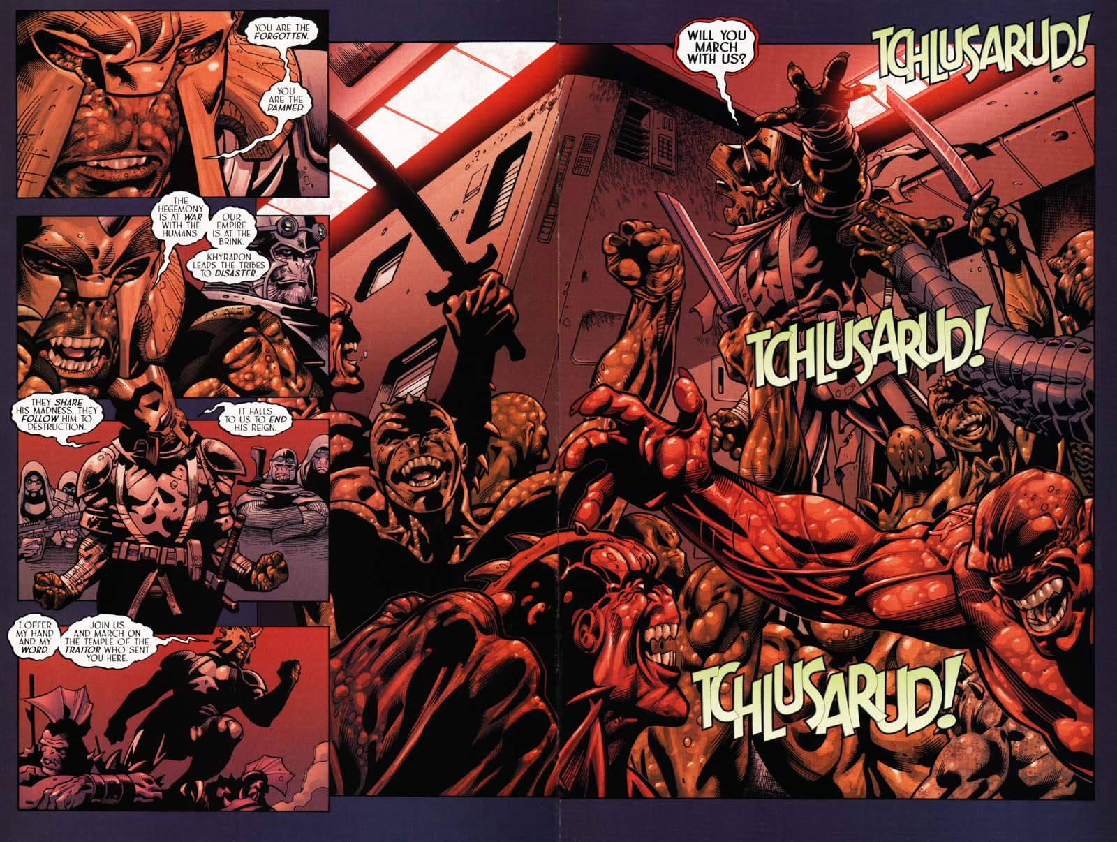 Read online Sigil (2000) comic -  Issue #25 - 28
