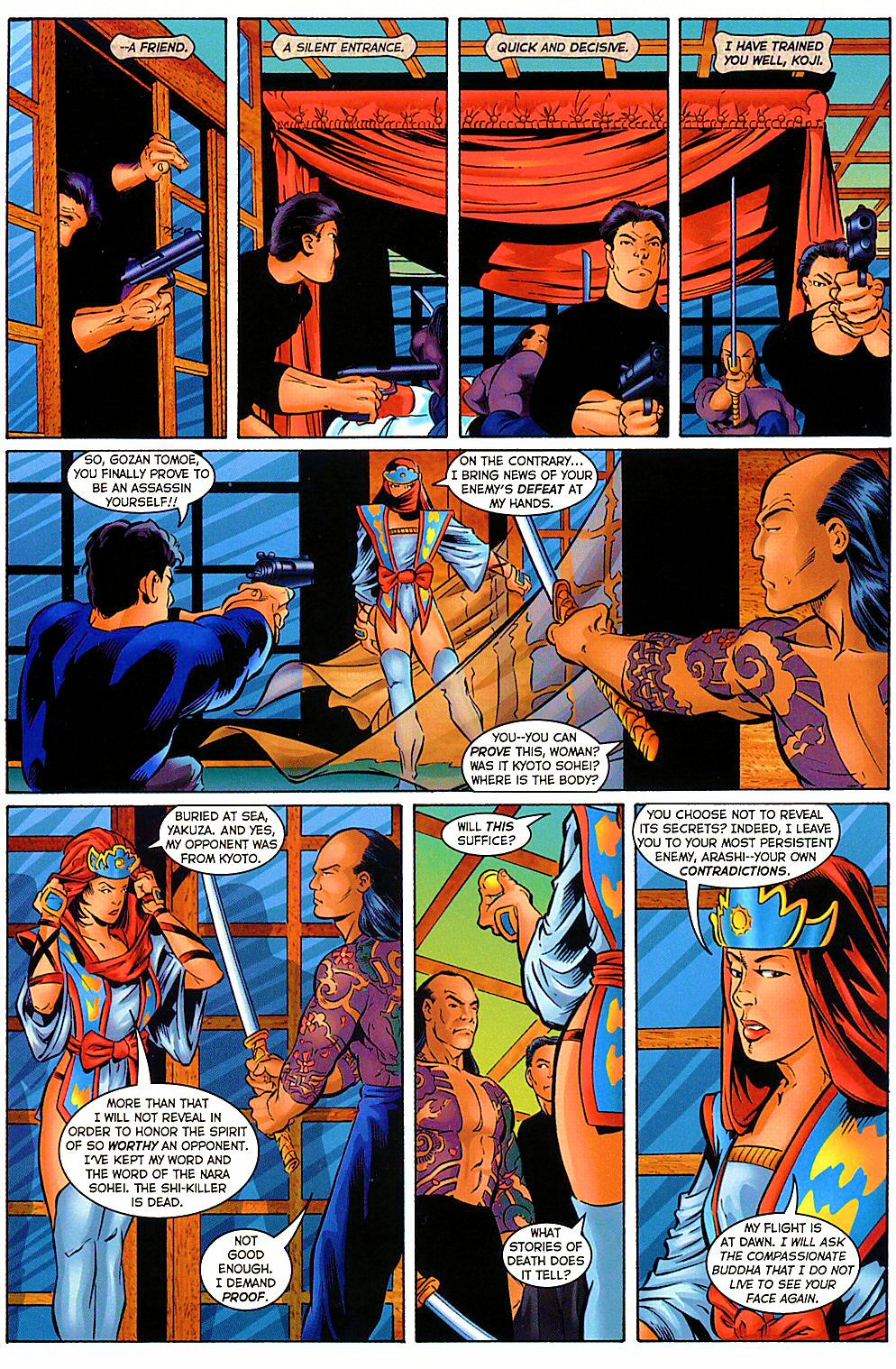 Read online Shi: The Way of the Warrior comic -  Issue #9 - 4