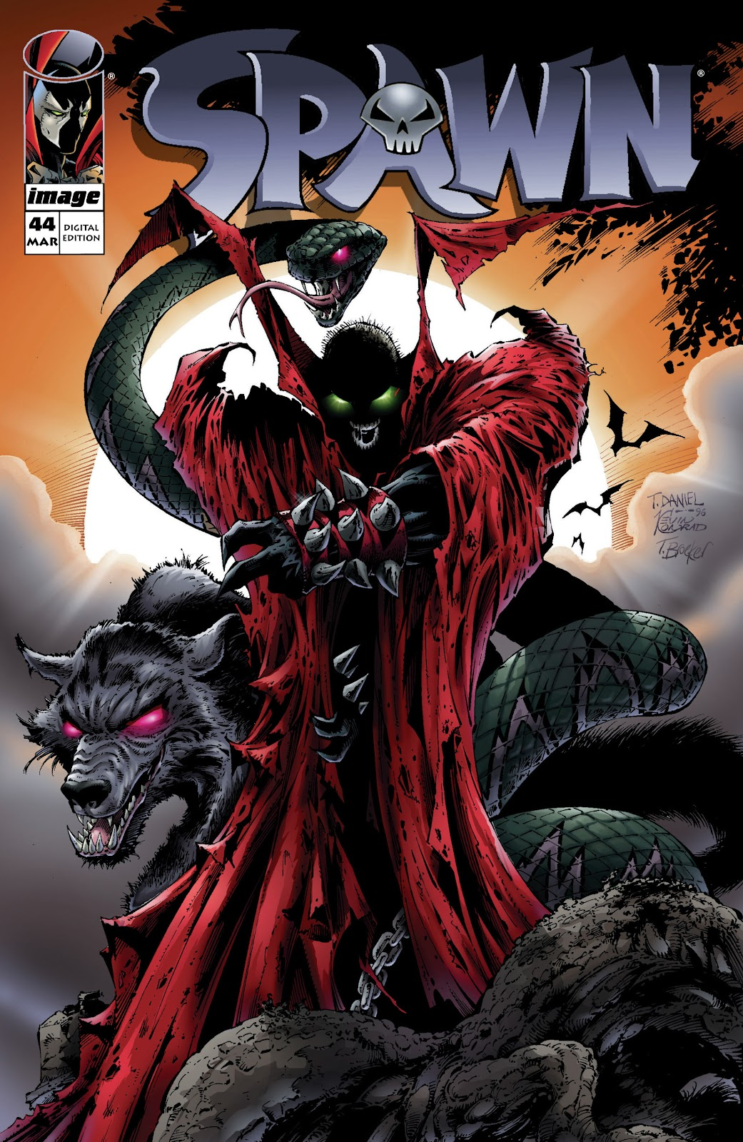 Spawn 44 Page 1