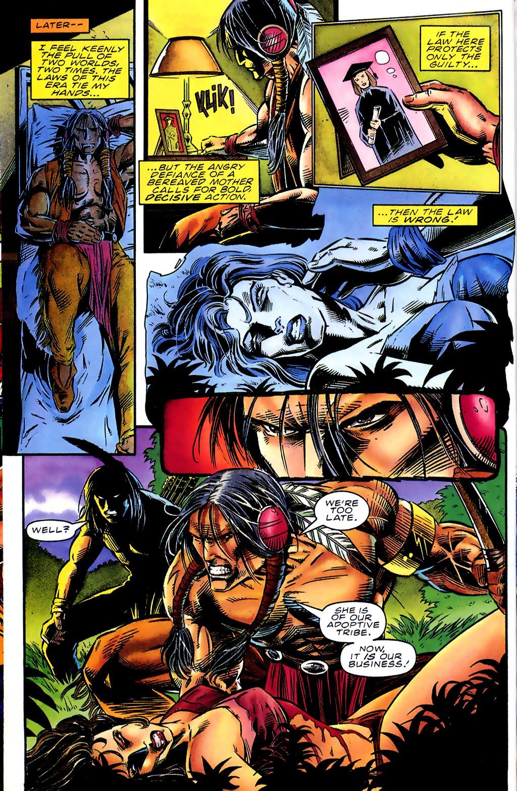 Read online Turok, Dinosaur Hunter (1993) comic -  Issue #41 - 11