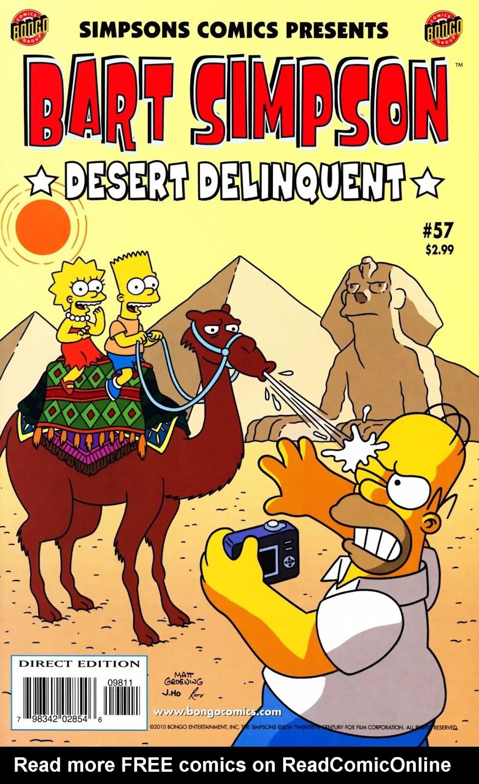 Simpsons Comics Presents Bart Simpson 57 Page 1