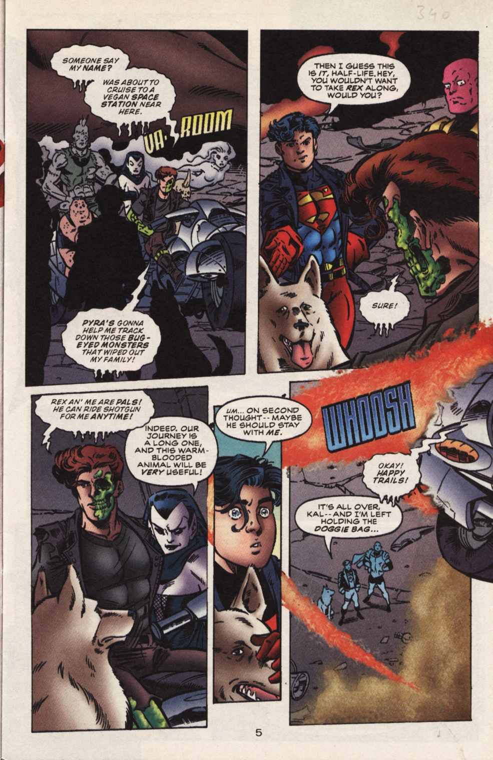 Read online Superboy & The Ravers comic -  Issue #13 - 6