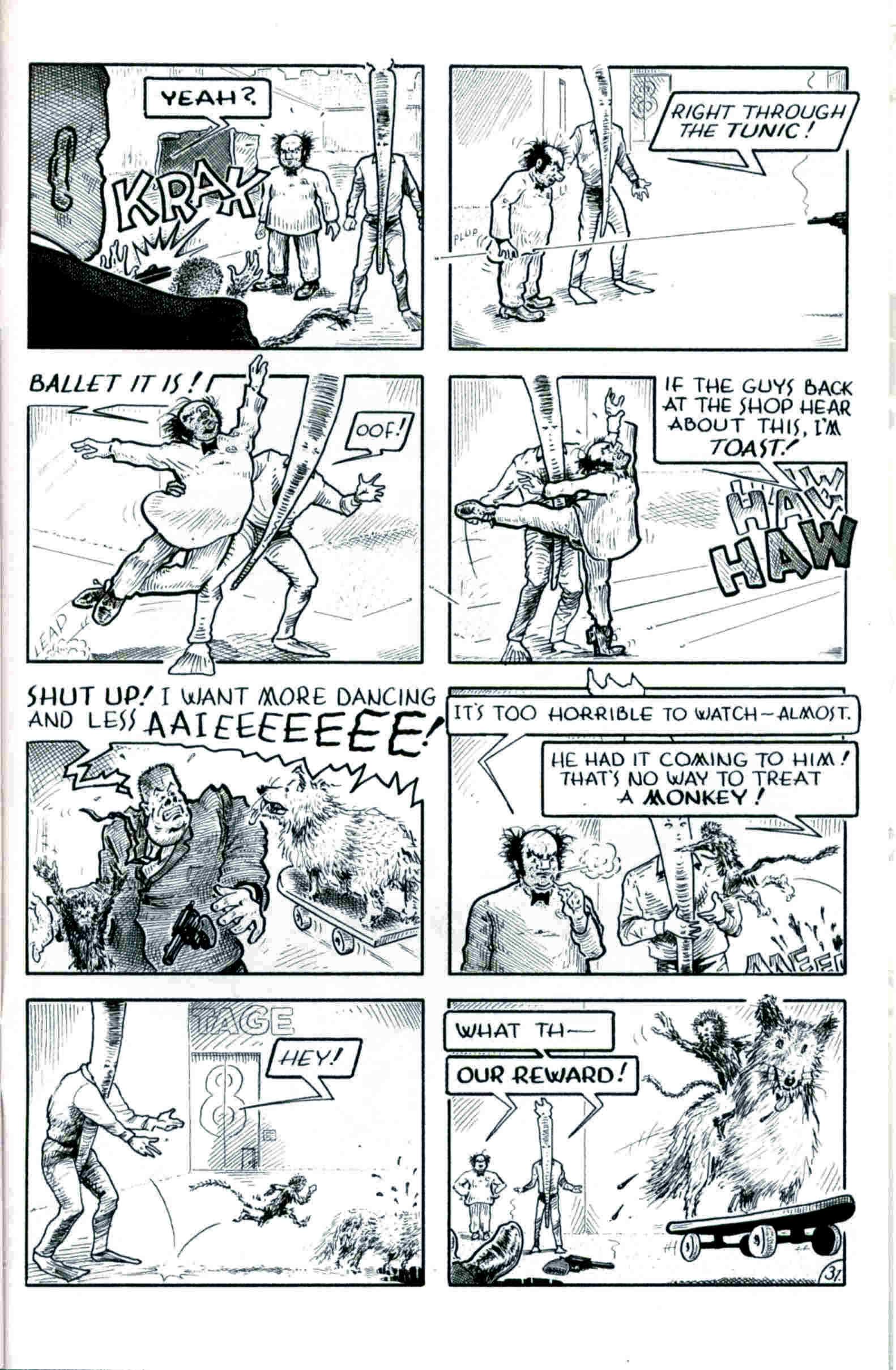 Read online Flaming Carrot & Reid Fleming, World's Toughest Milkman comic -  Issue # Full - 31