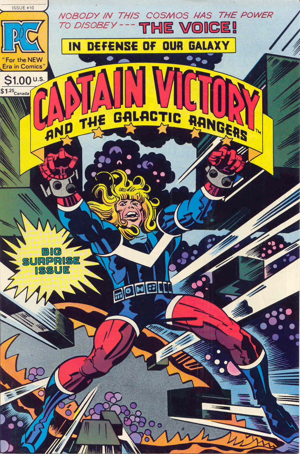 Captain Victory and the Galactic Rangers (1981) 10 Page 1