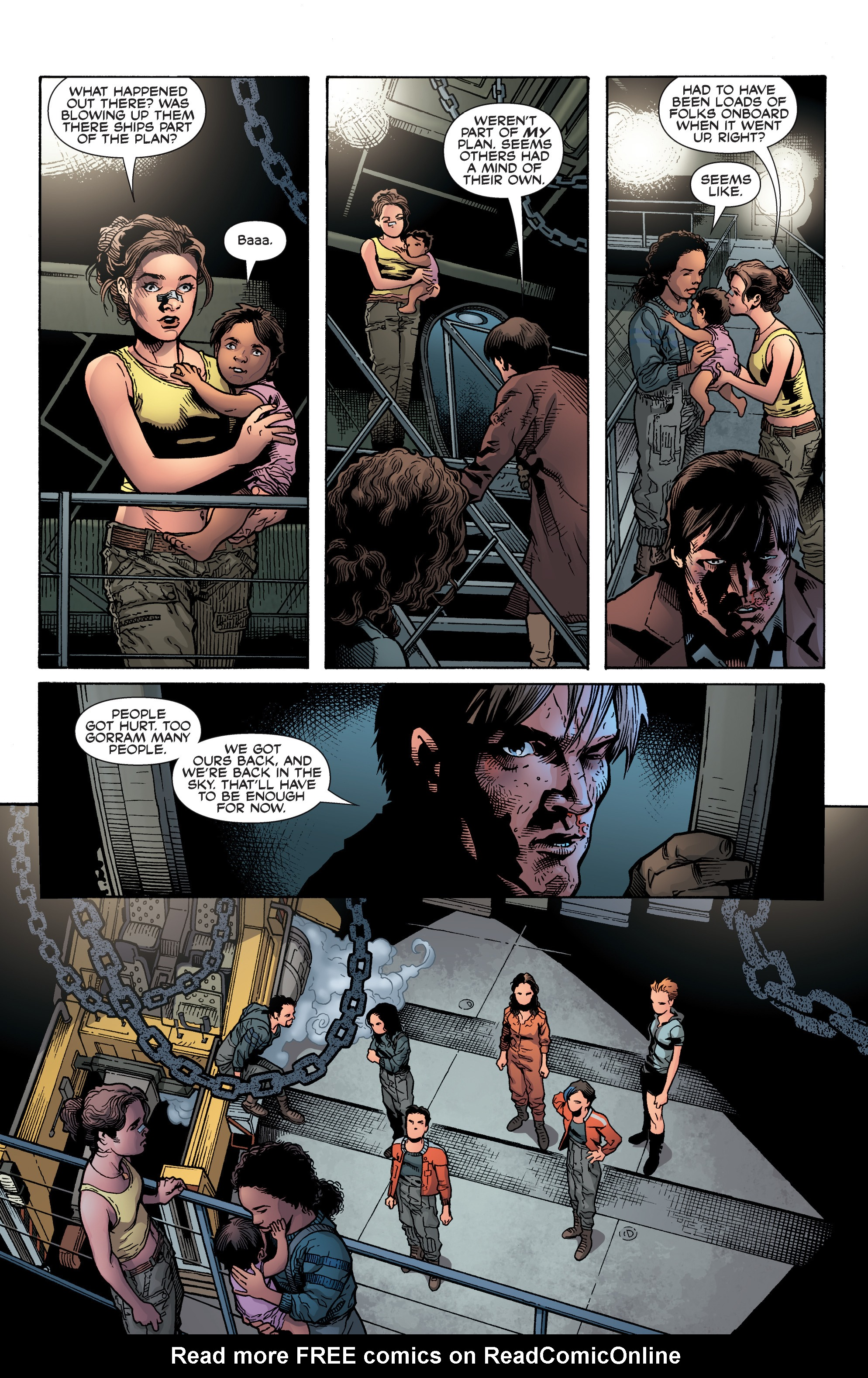 Read online Serenity: Firefly Class 03-K64 – No Power in the 'Verse comic -  Issue #6 - 18