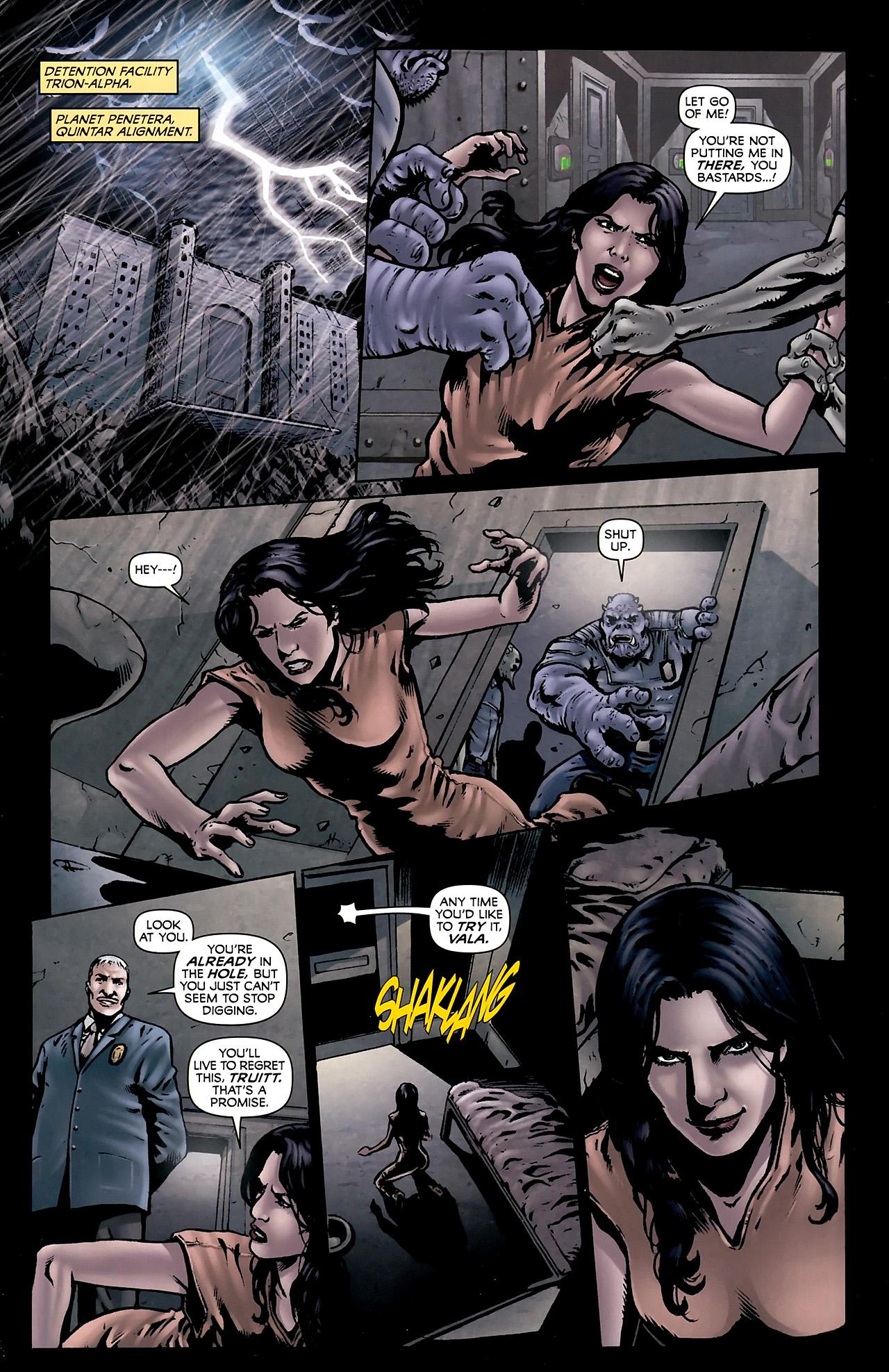 Read online Stargate Vala Mal Doran comic -  Issue #3 - 3