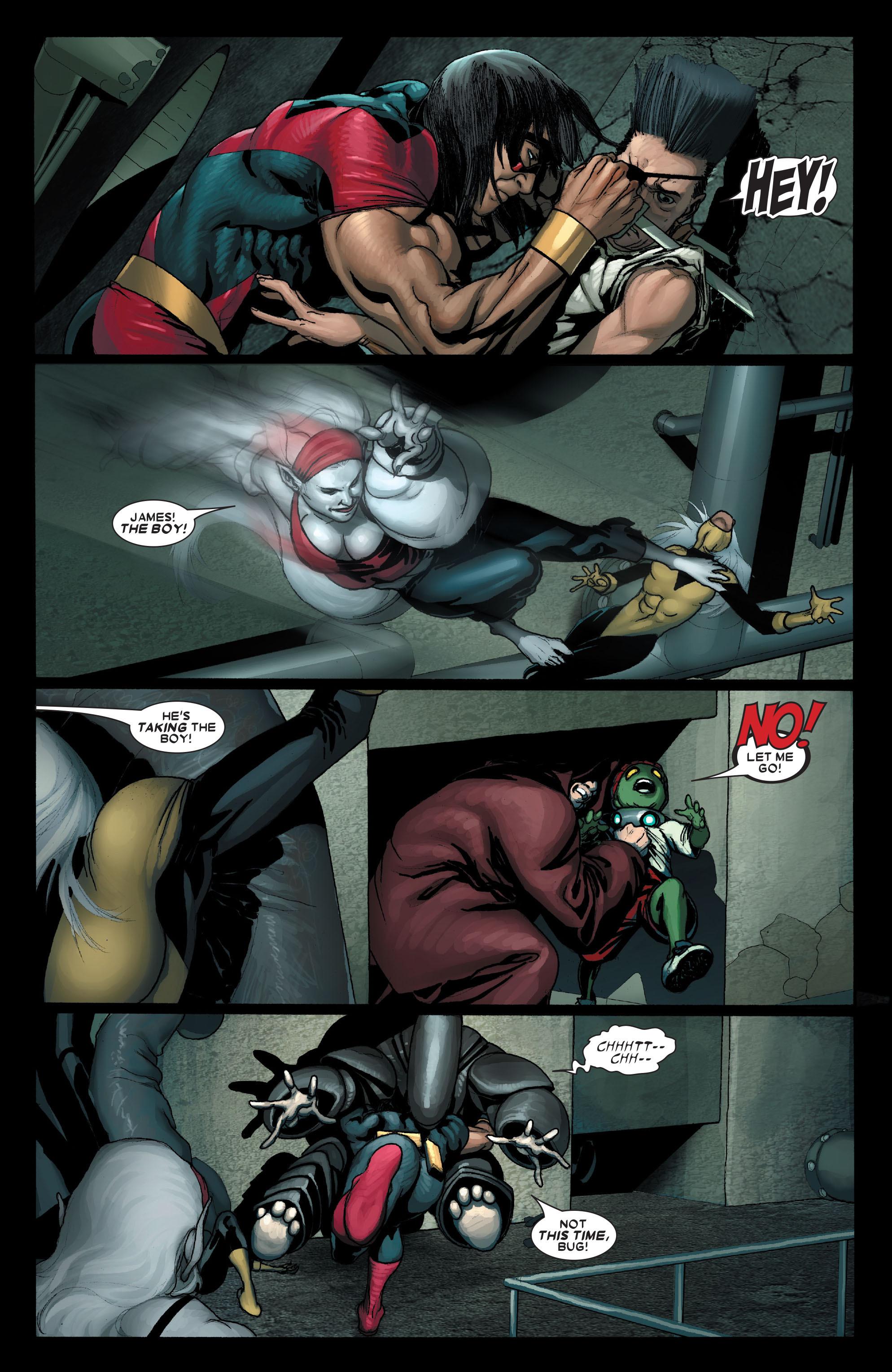 Read online Uncanny X-Men (1963) comic -  Issue #490 - 14