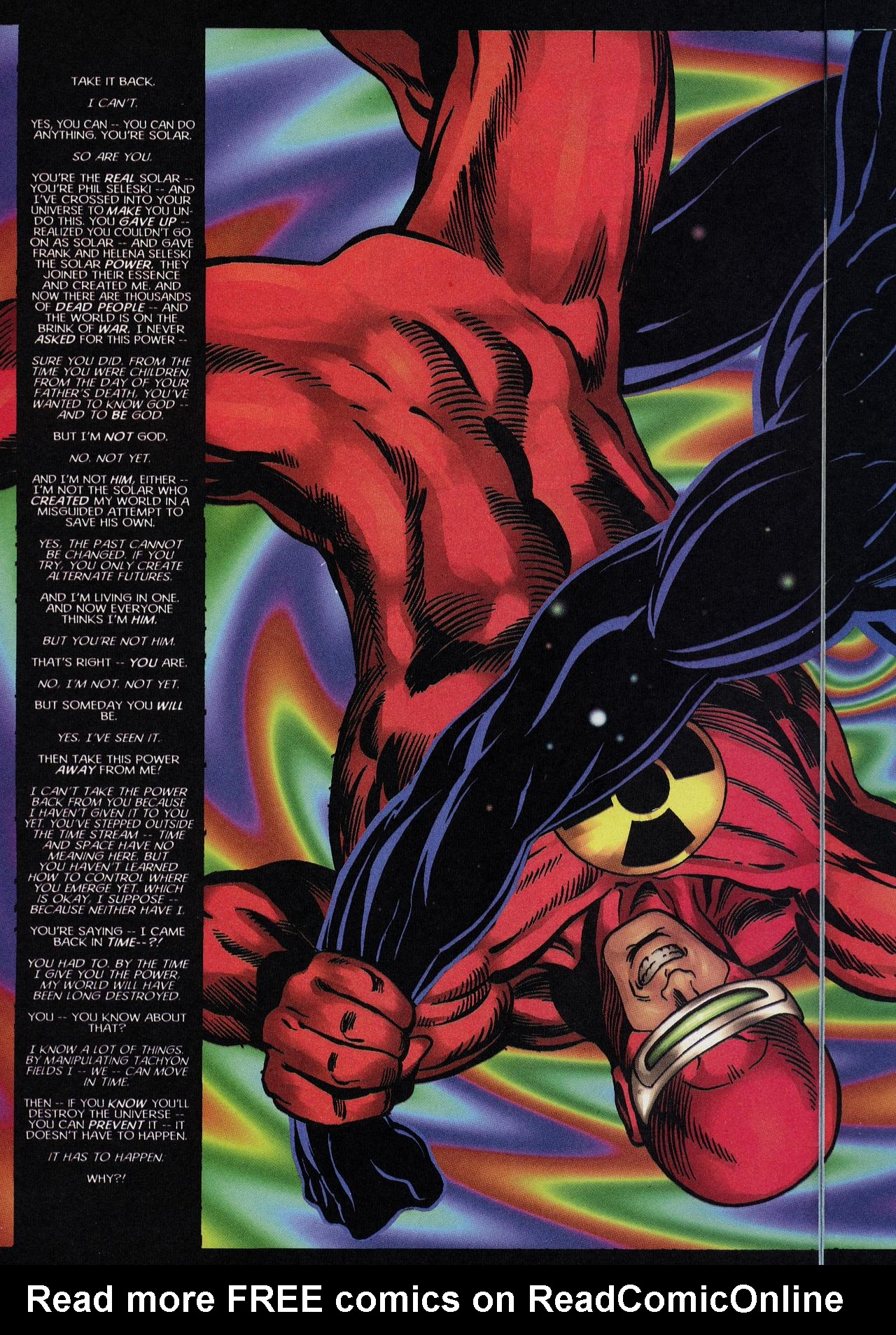 Read online Solar, Man of the Atom: Hell on Earth comic -  Issue #4 - 4