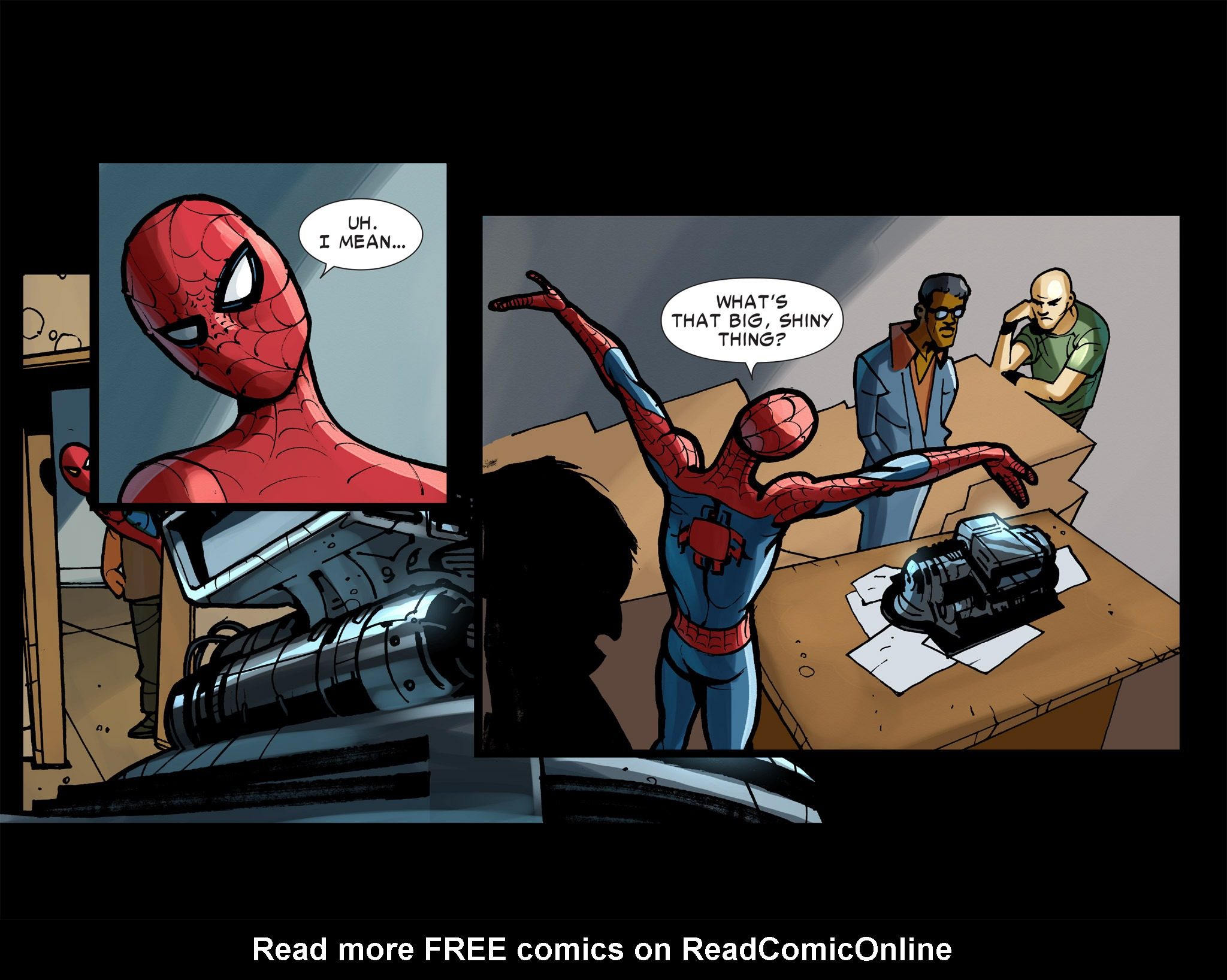 Read online Amazing Spider-Man: Who Am I? comic -  Issue # Full (Part 2) - 7