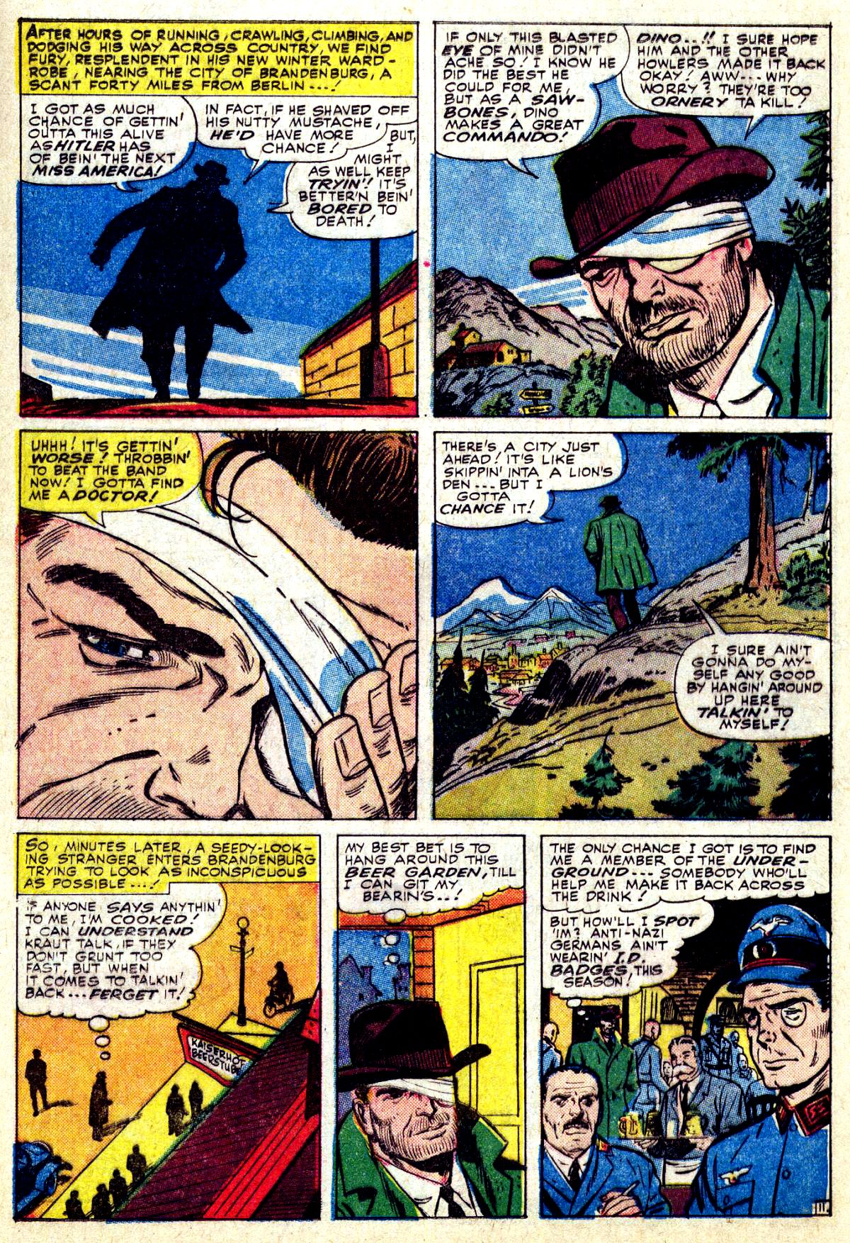 Read online Sgt. Fury comic -  Issue #27 - 16
