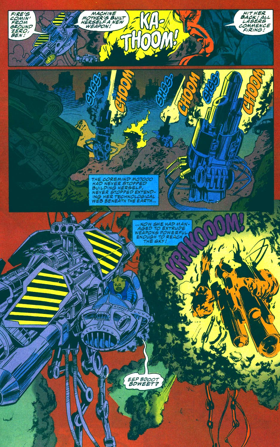 Read online Kamandi: At Earth's End comic -  Issue #5 - 14