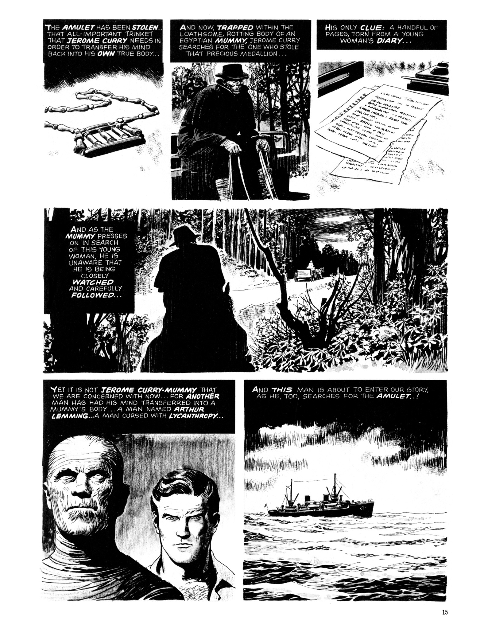 Read online Eerie Archives comic -  Issue # TPB 12 - 16