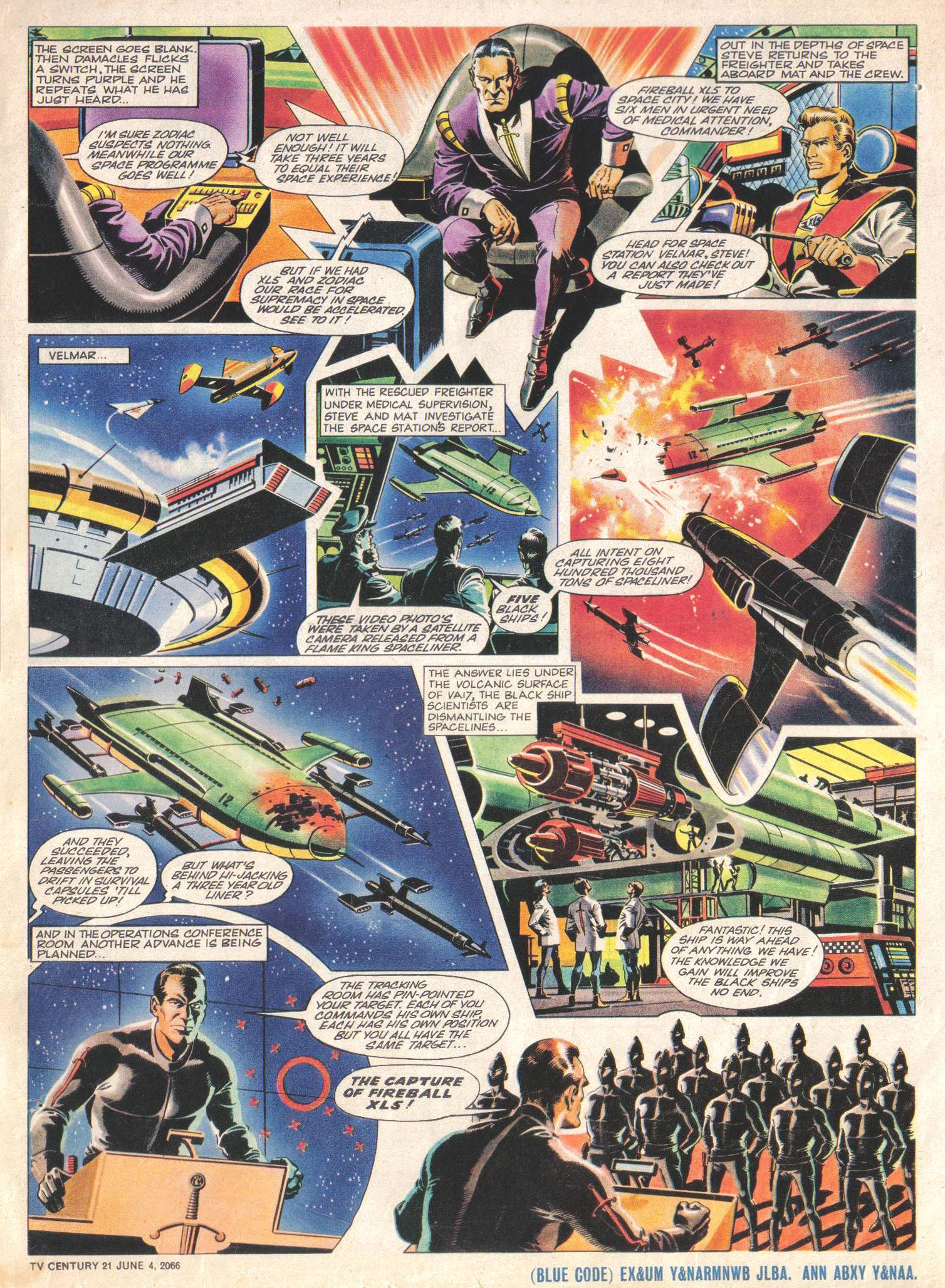 Read online TV Century 21 (TV 21) comic -  Issue #72 - 16