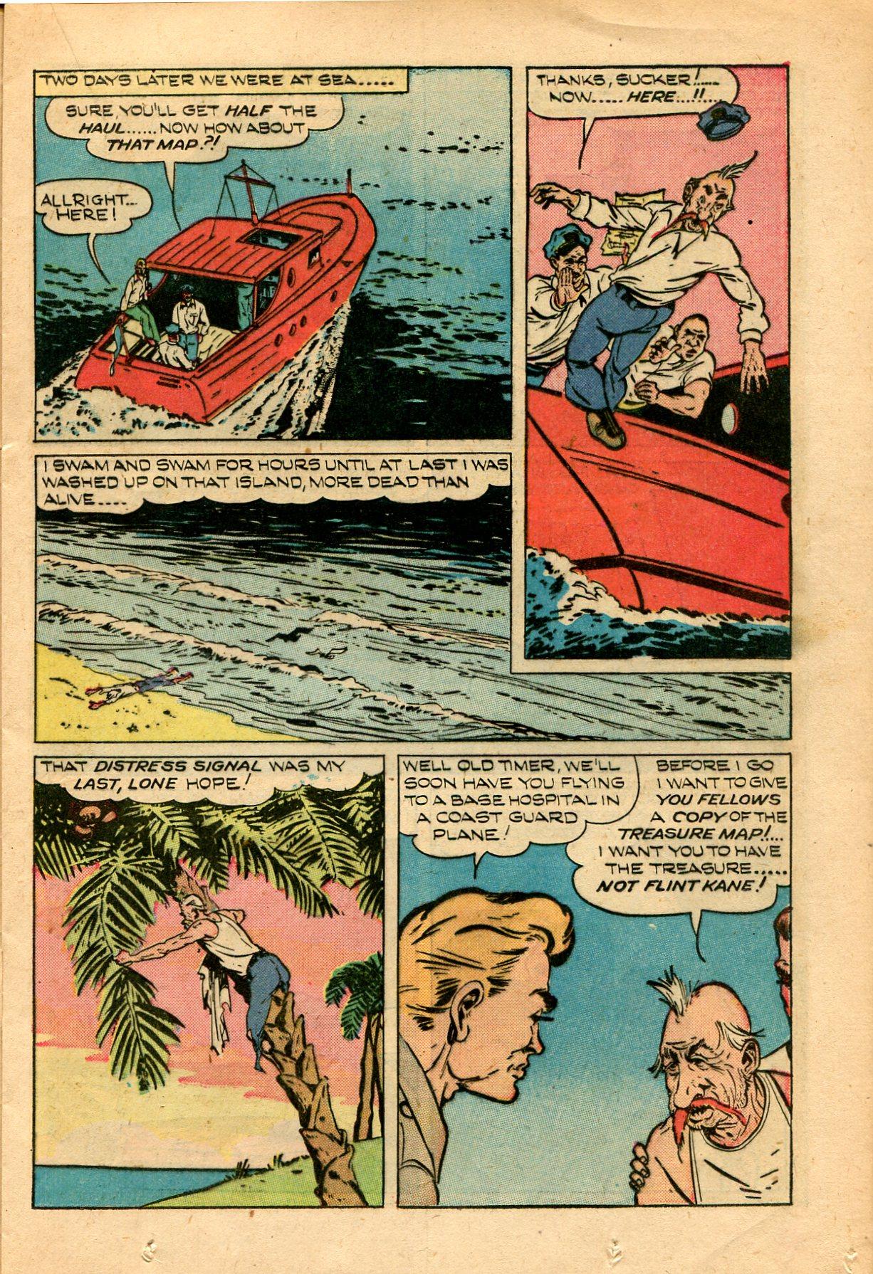 Read online Shadow Comics comic -  Issue #82 - 21