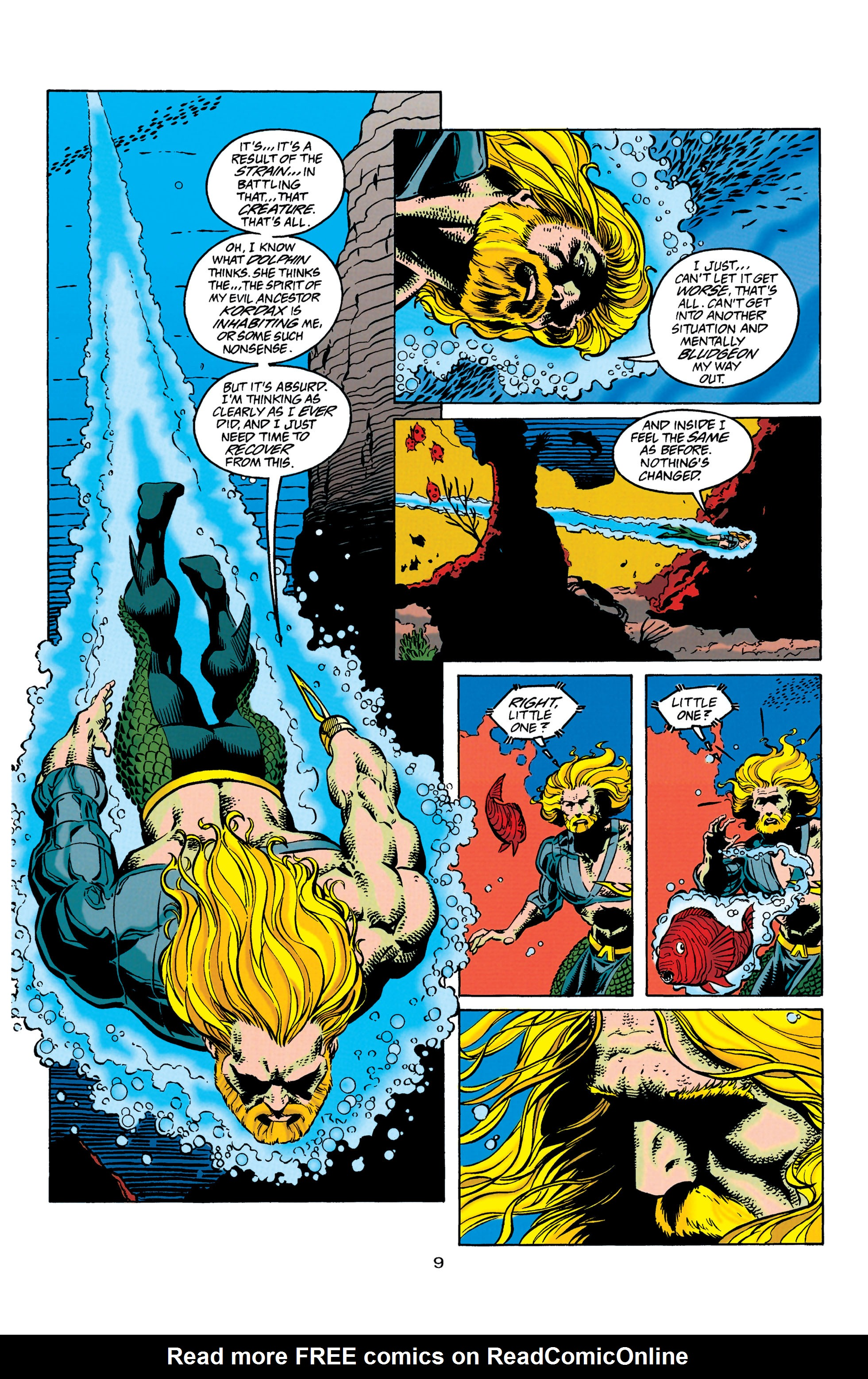 Read online Aquaman (1994) comic -  Issue #31 - 10
