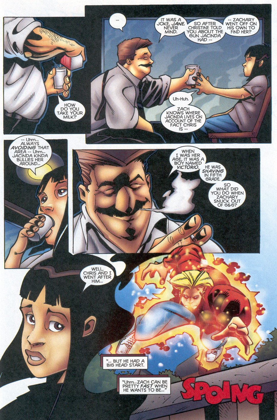Read online Troublemakers comic -  Issue #12 - 17