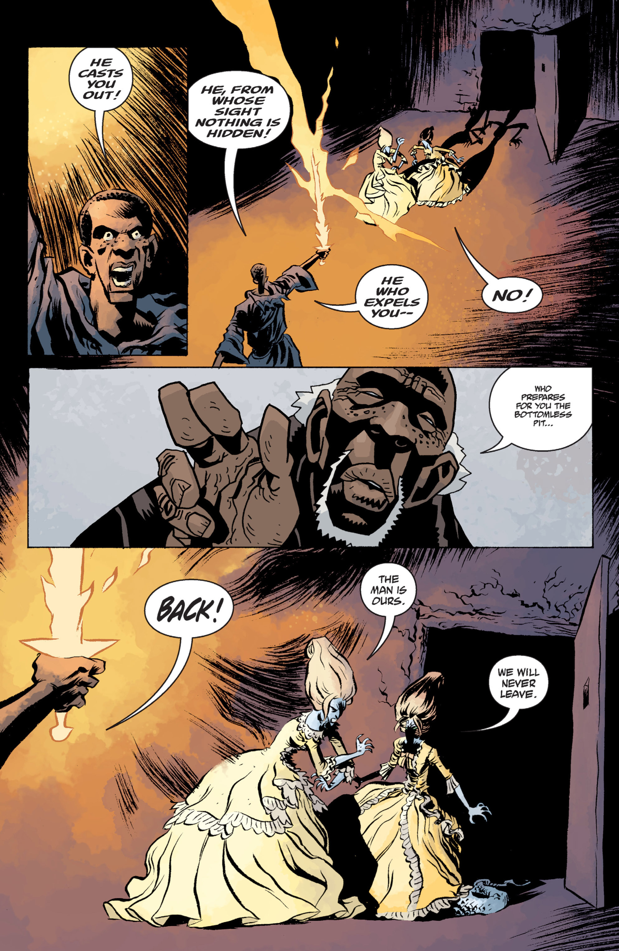 Read online B.P.R.D. (2003) comic -  Issue # TPB 13 - 126