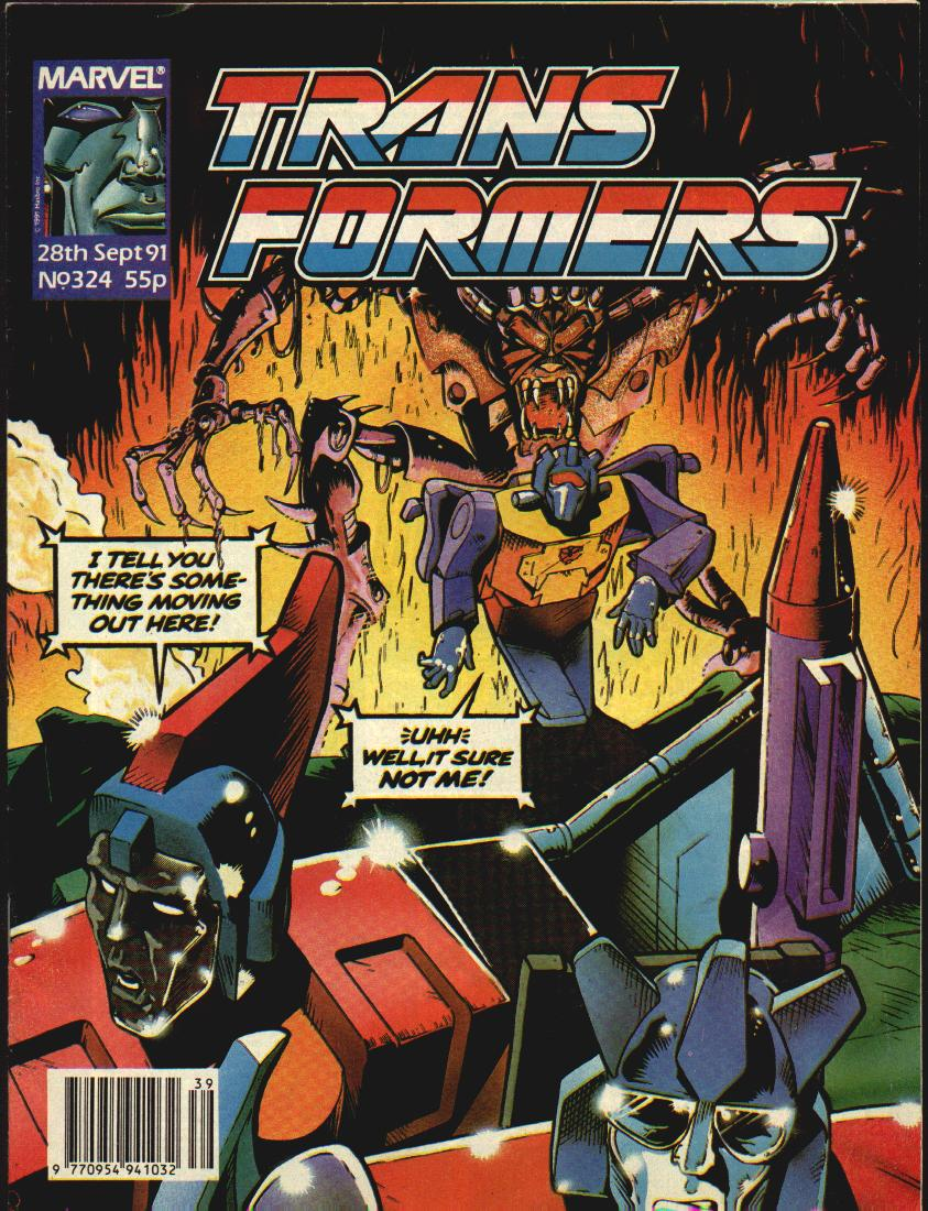The Transformers (UK) 324 Page 1