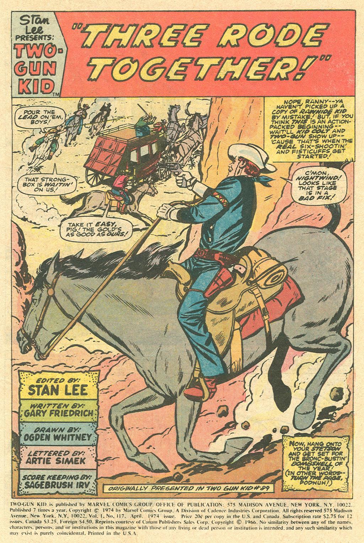 Read online Two-Gun Kid comic -  Issue #117 - 3
