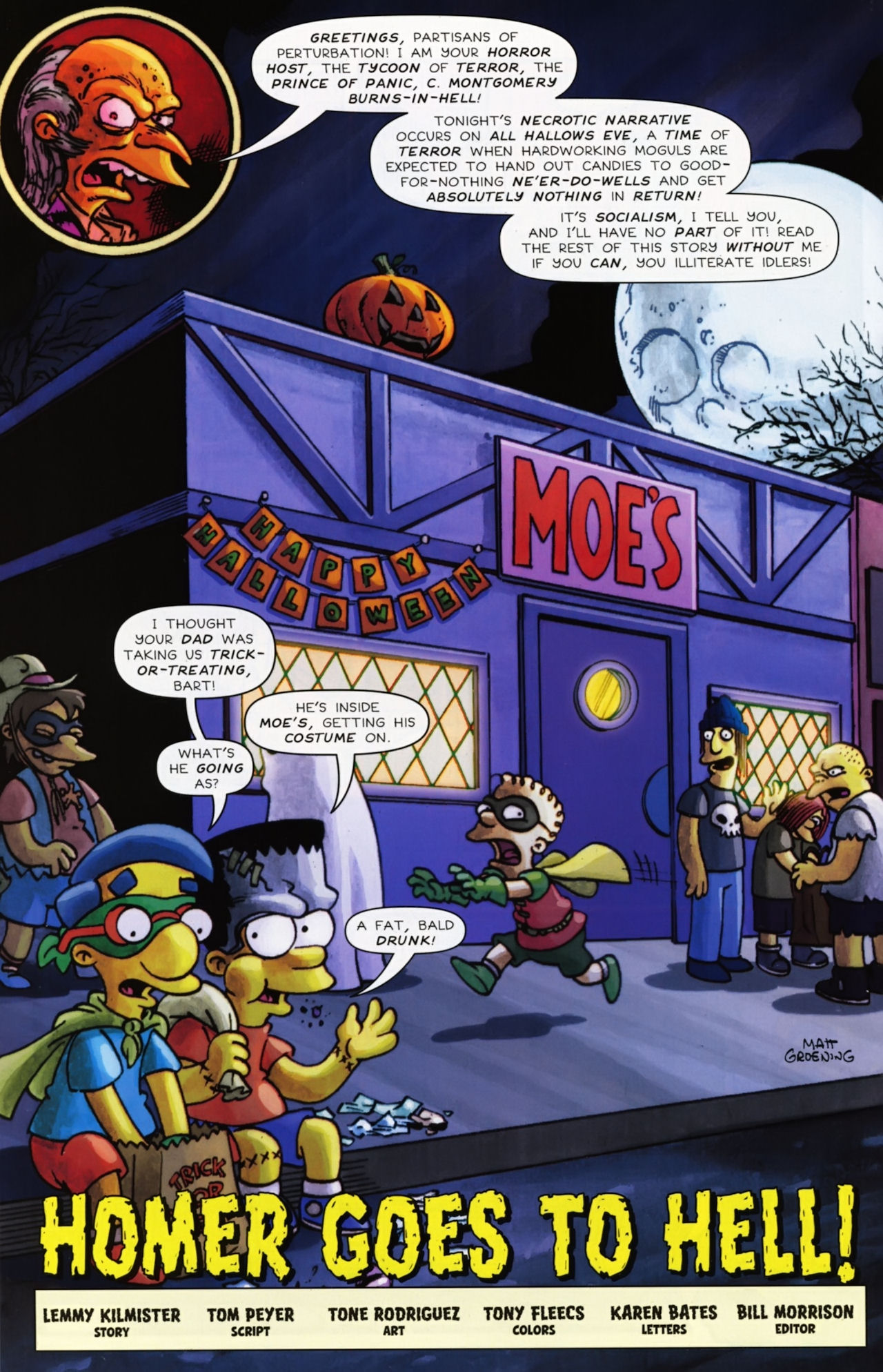Read online Treehouse of Horror comic -  Issue #16 - 43