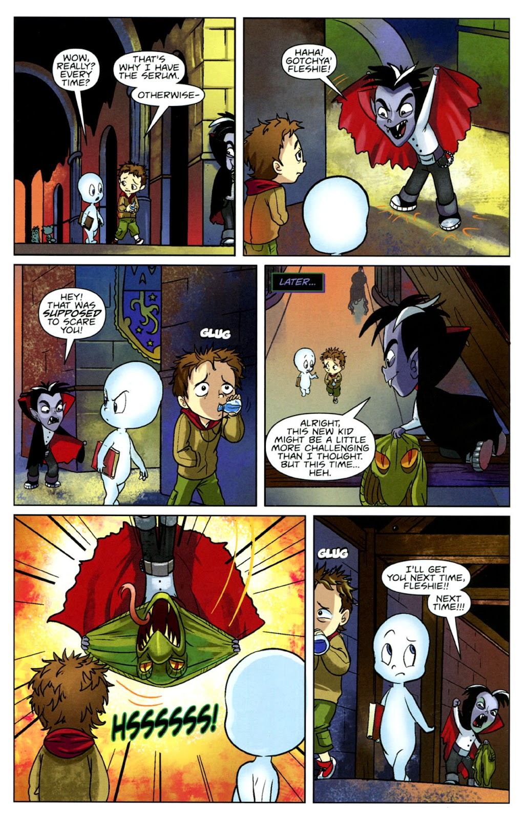Read online Casper's Scare School comic -  Issue #1 - 20