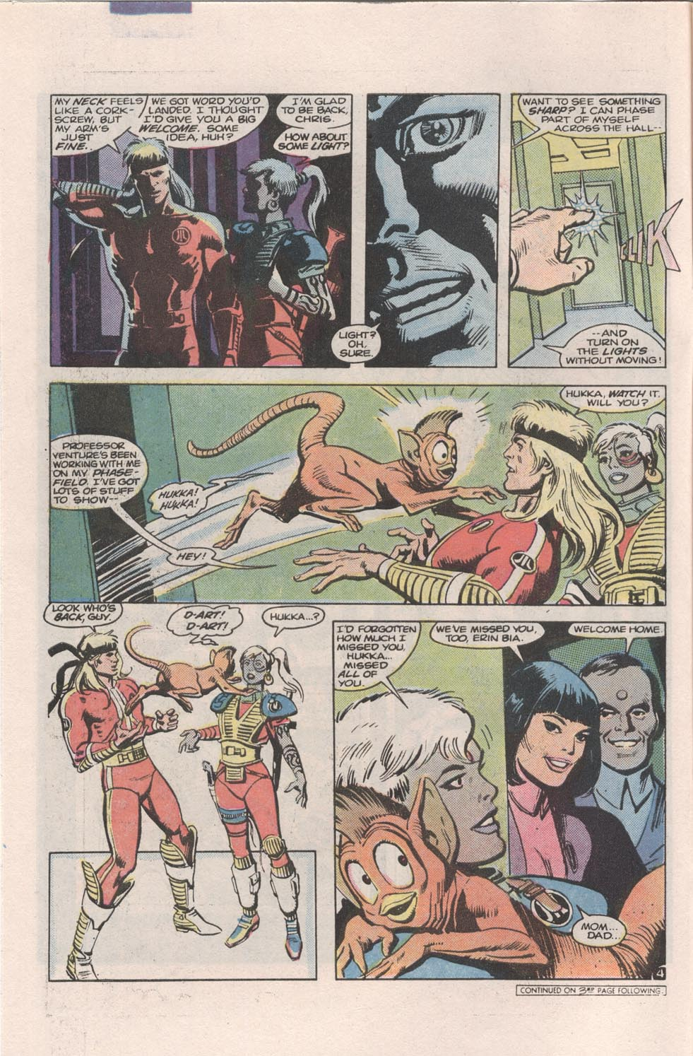 Read online Atari Force (1984) comic -  Issue #4 - 5