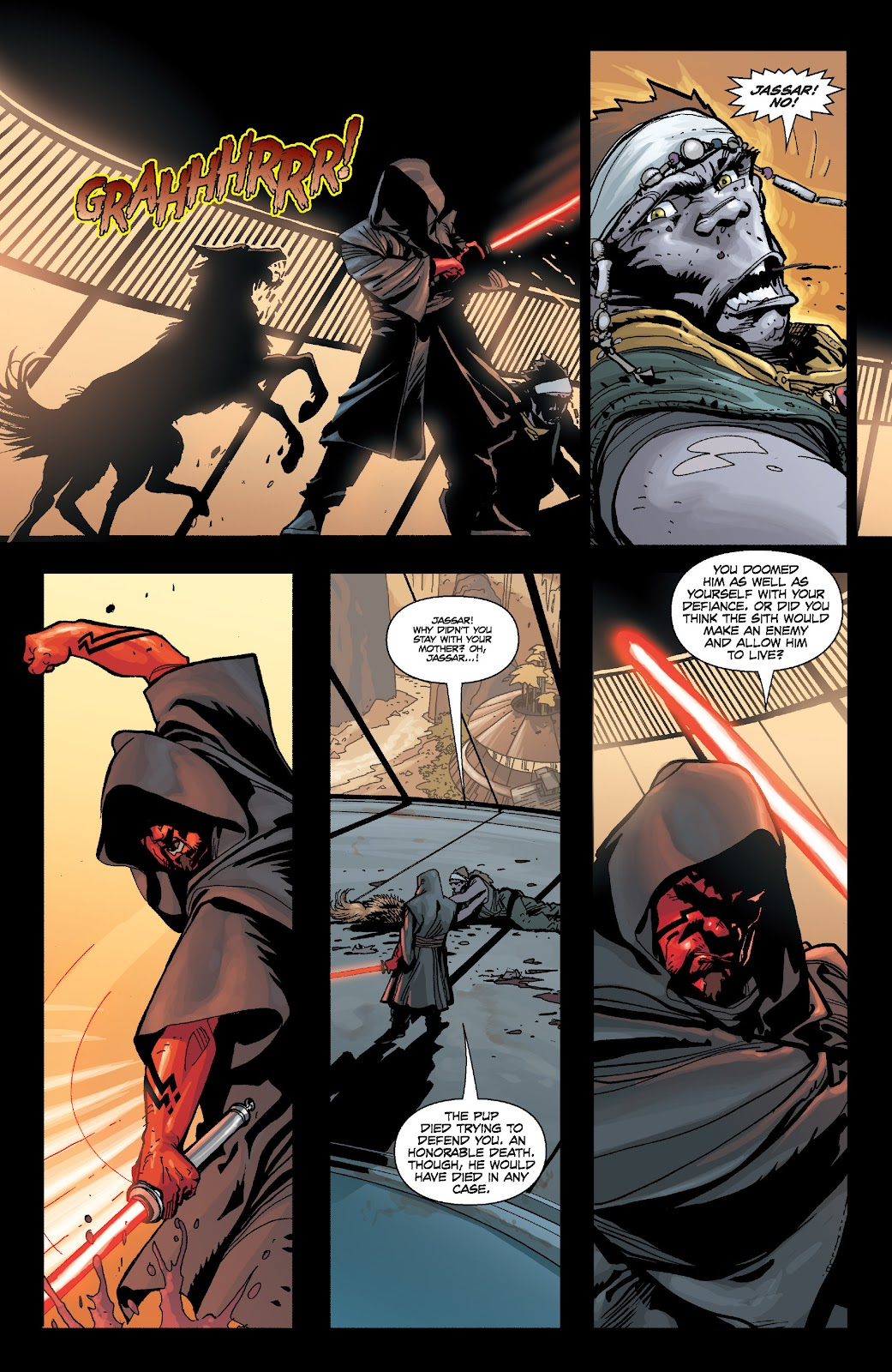 Read online Star Wars Legends: Legacy - Epic Collection comic -  Issue # TPB 1 (Part 3) - 55