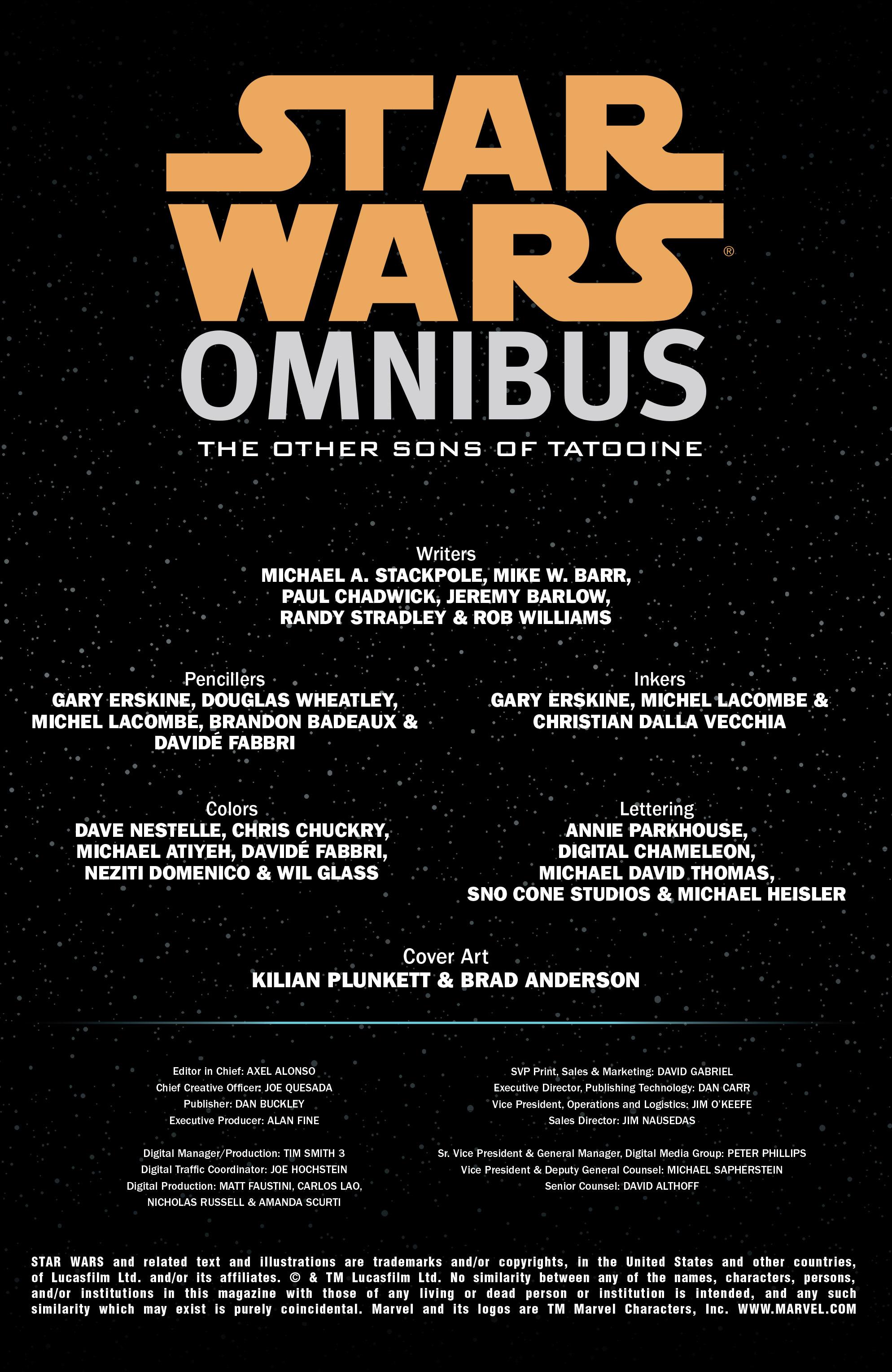 Read online Star Wars Omnibus comic -  Issue # Vol. 22 - 2