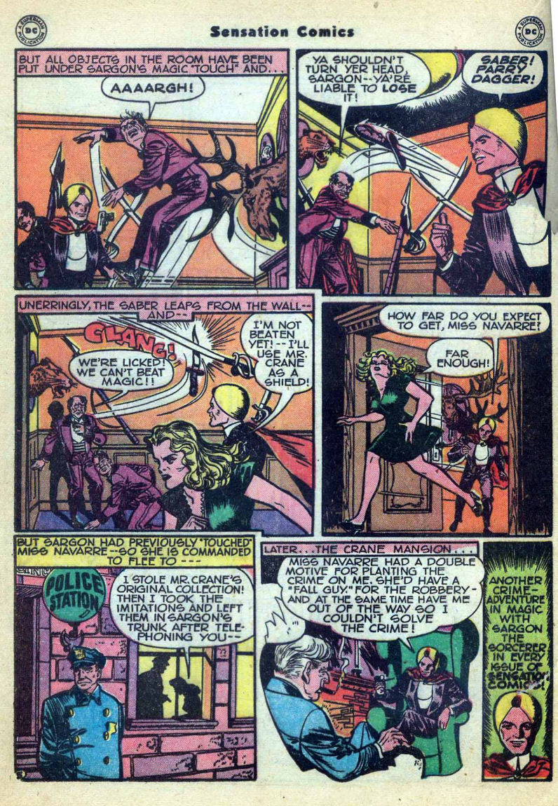 Sensation (Mystery) Comics issue 73 - Page 28