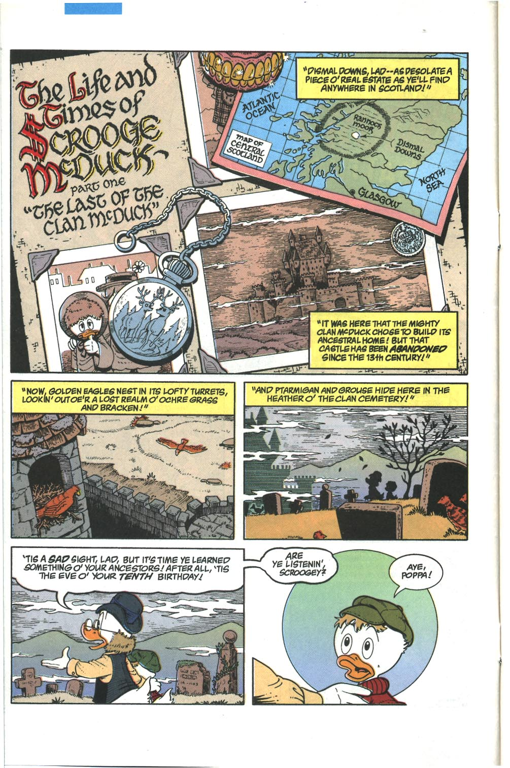 Read online Uncle Scrooge (1953) comic -  Issue #285 - 3