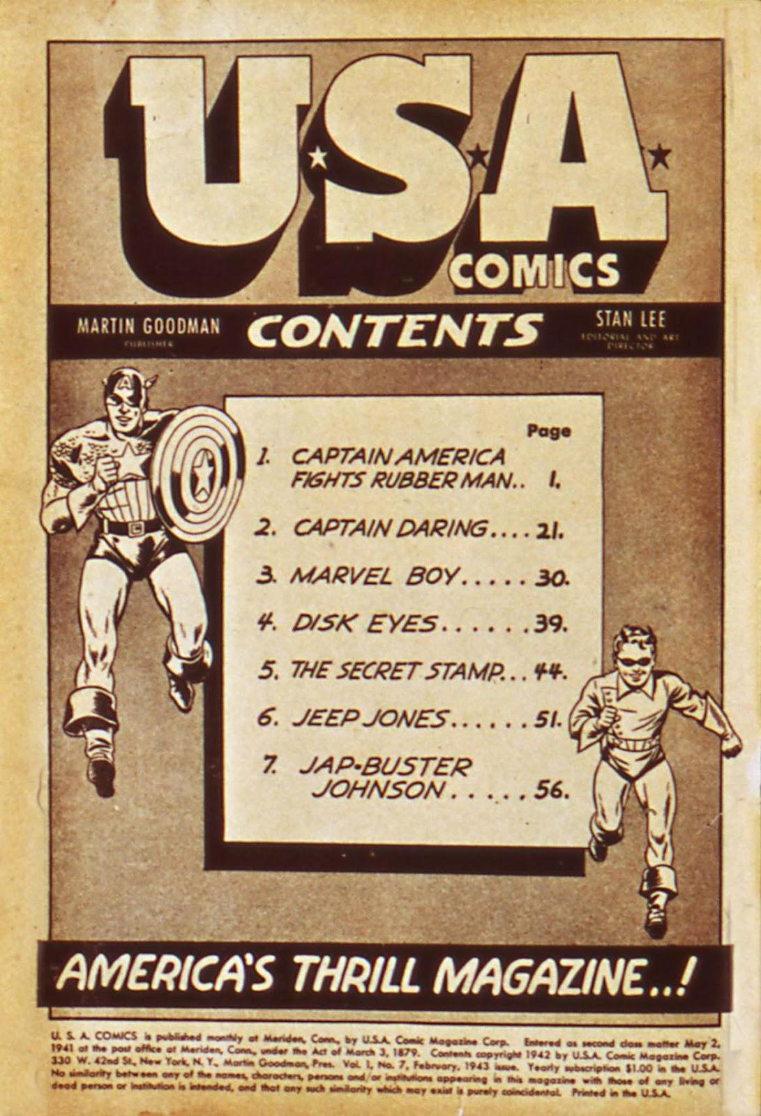 USA Comics issue 7 - Page 2