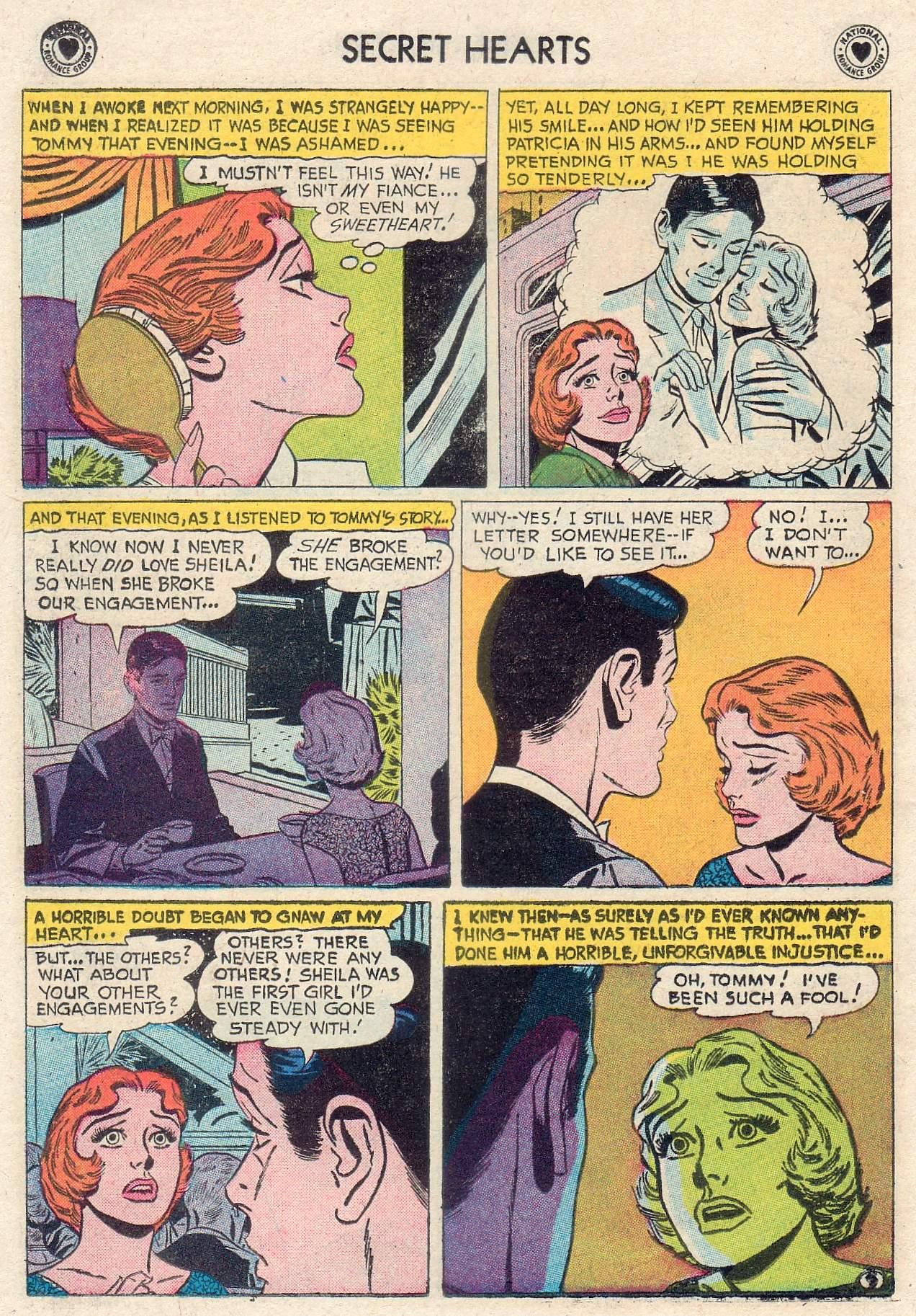 Read online Secret Hearts comic -  Issue #46 - 14