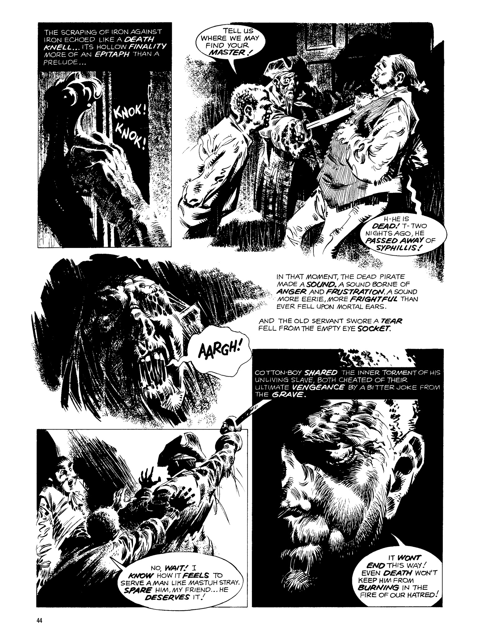 Read online Eerie Archives comic -  Issue # TPB 13 - 45