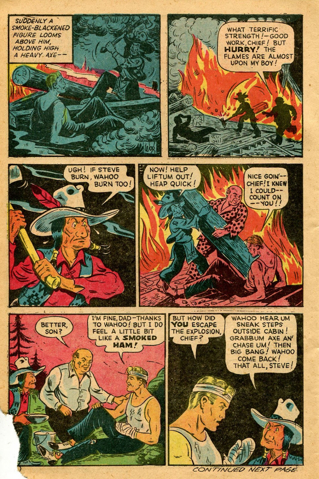 Read online Famous Funnies comic -  Issue #127 - 42