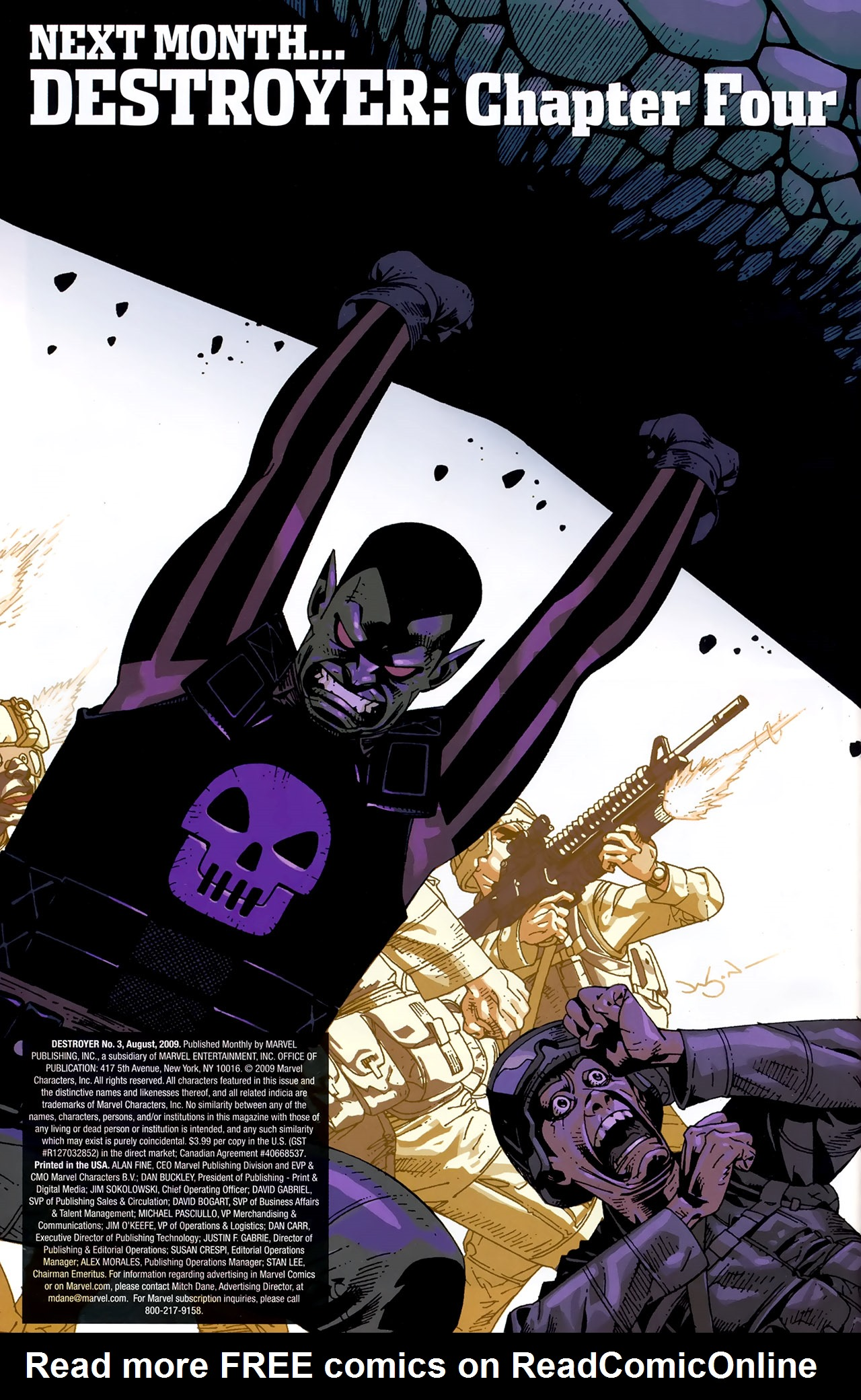 Read online Destroyer comic -  Issue #3 - 23