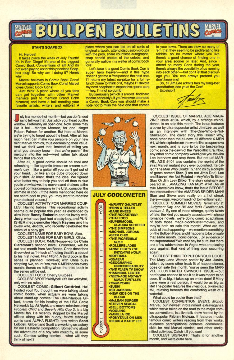 Read online Alpha Flight (1983) comic -  Issue #100 - 33