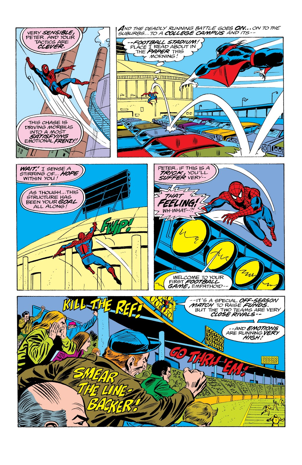 Read online Marvel Masterworks: The Spectacular Spider-Man comic -  Issue # TPB (Part 2) - 34