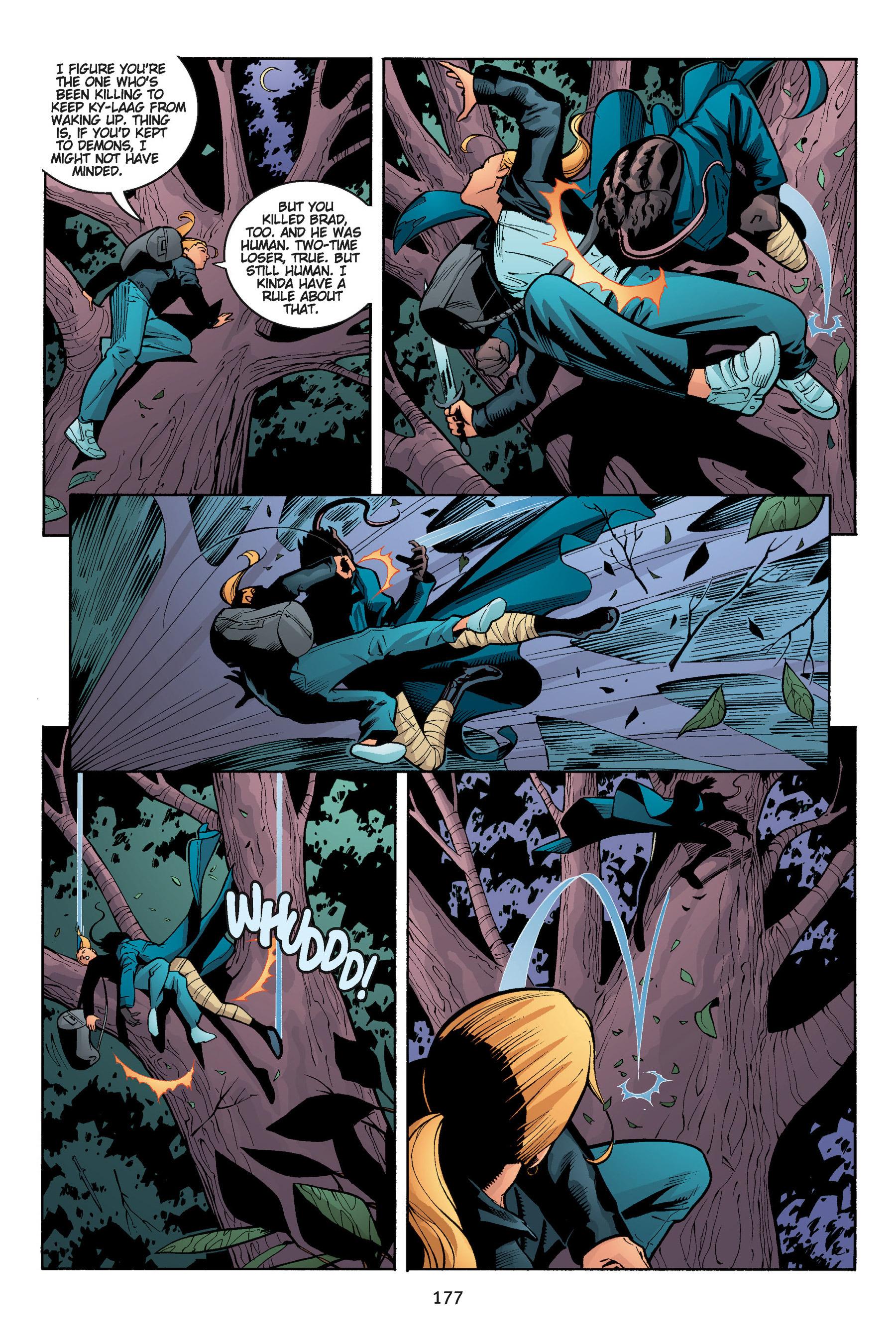 Read online Buffy the Vampire Slayer: Omnibus comic -  Issue # TPB 5 - 177