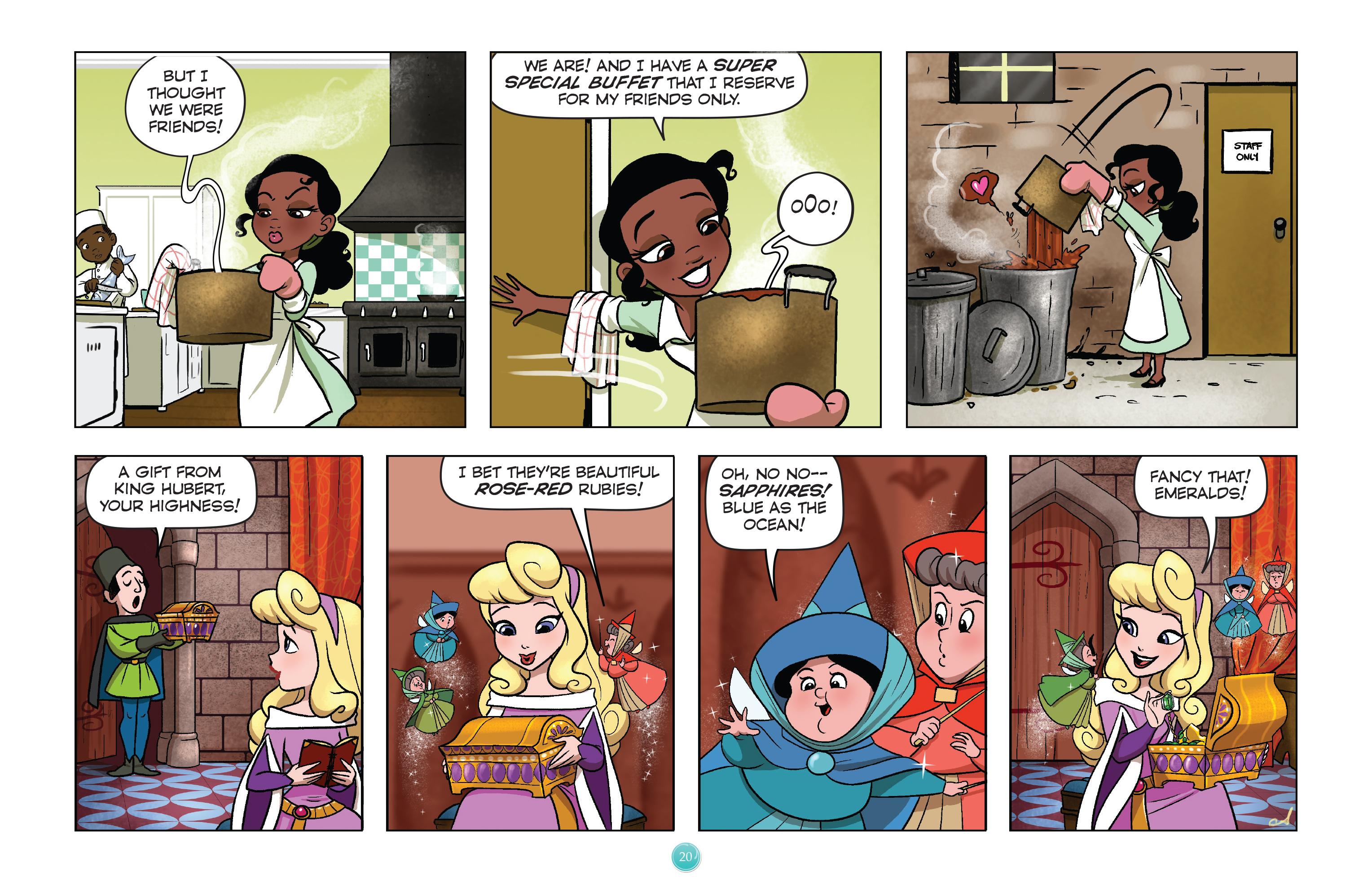Read online Disney Princess comic -  Issue #1 - 23