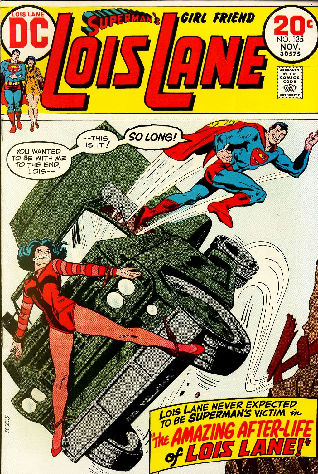 Supermans Girl Friend, Lois Lane 135 Page 1