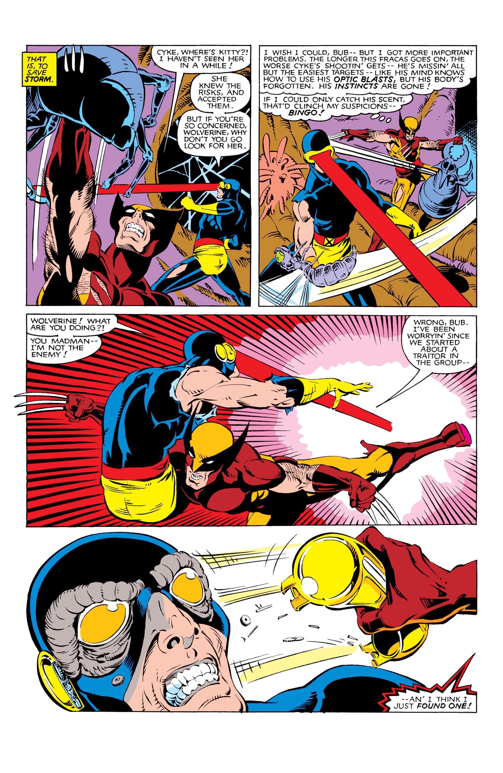Read online Uncanny X-Men (1963) comic -  Issue #166 - 23