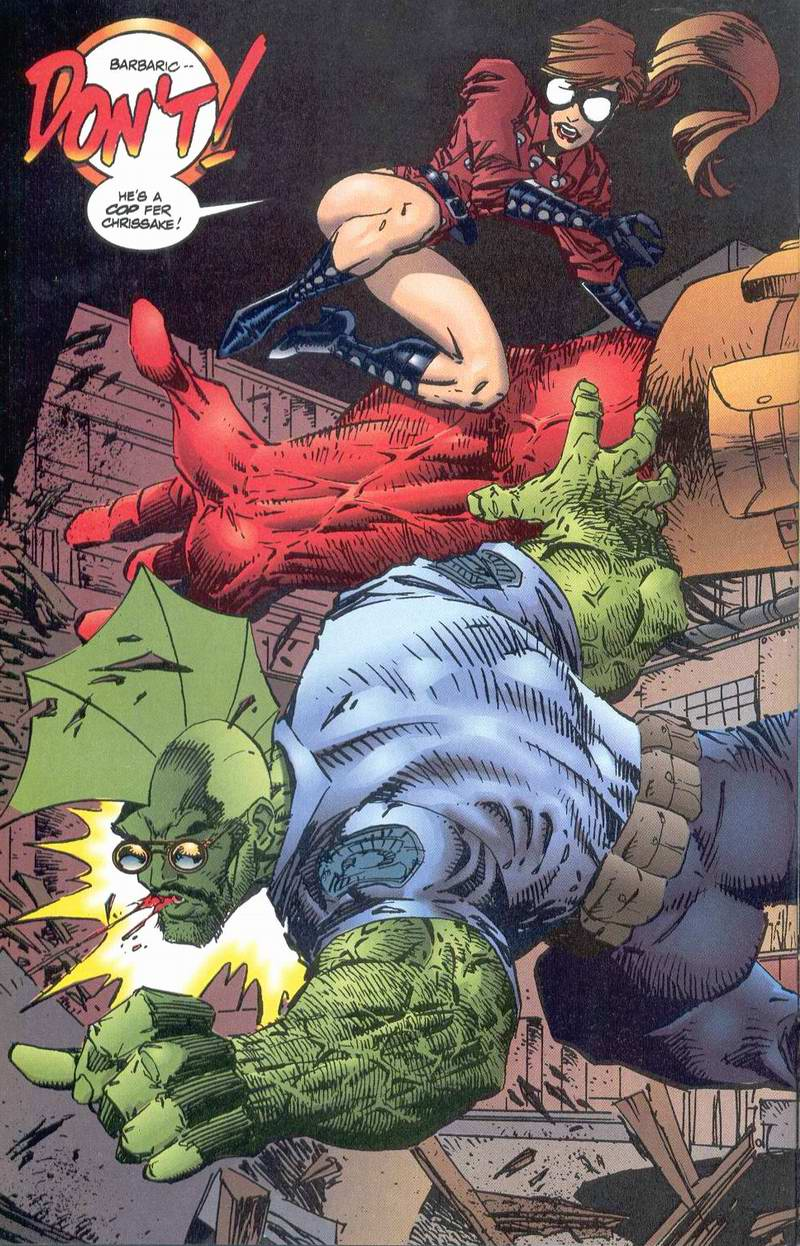 The Savage Dragon (1993) Issue #1 #3 - English 25